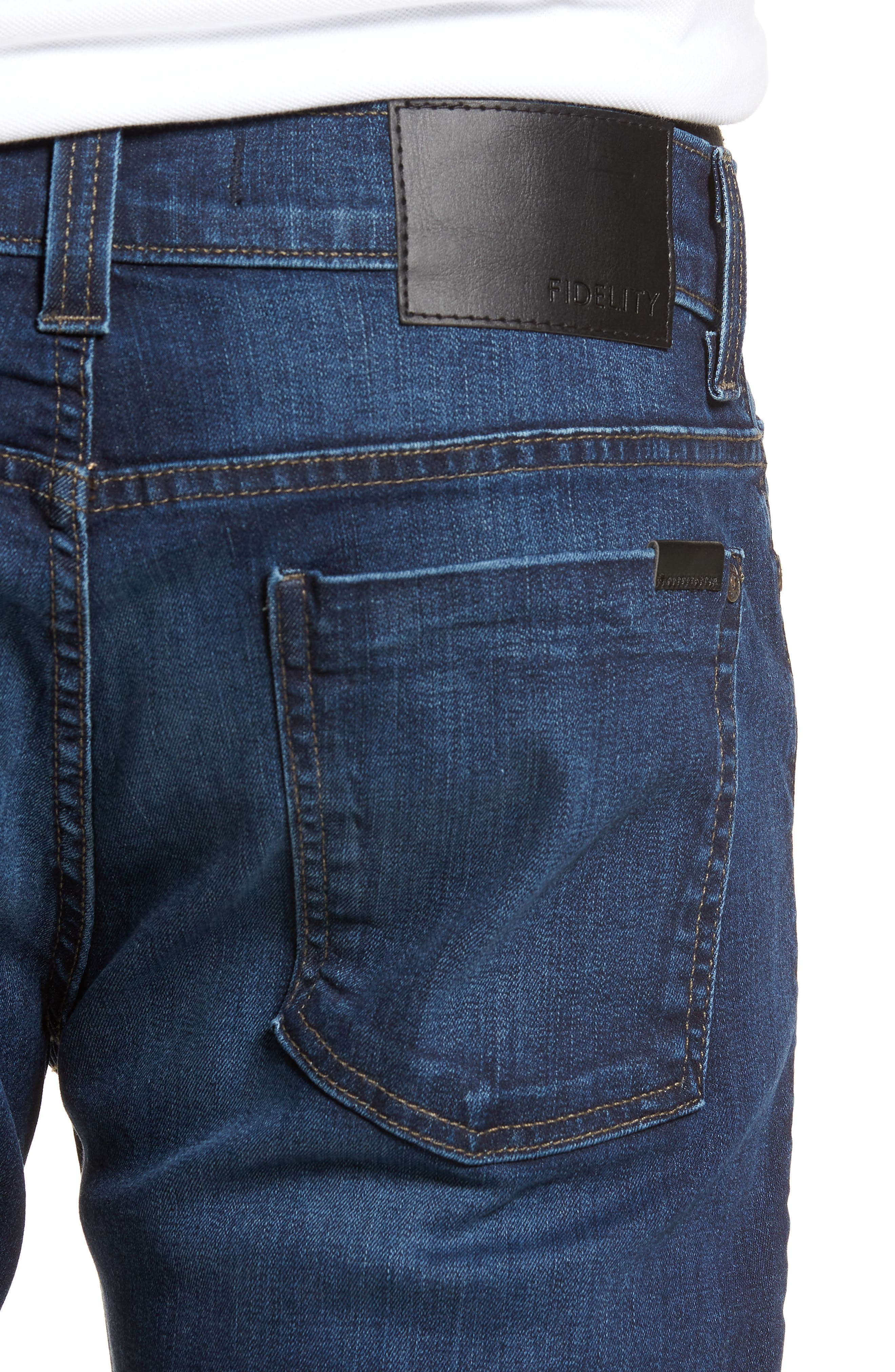 50-11 Relaxed Fit Jeans,                             Alternate thumbnail 4, color,                             Cornell Blue
