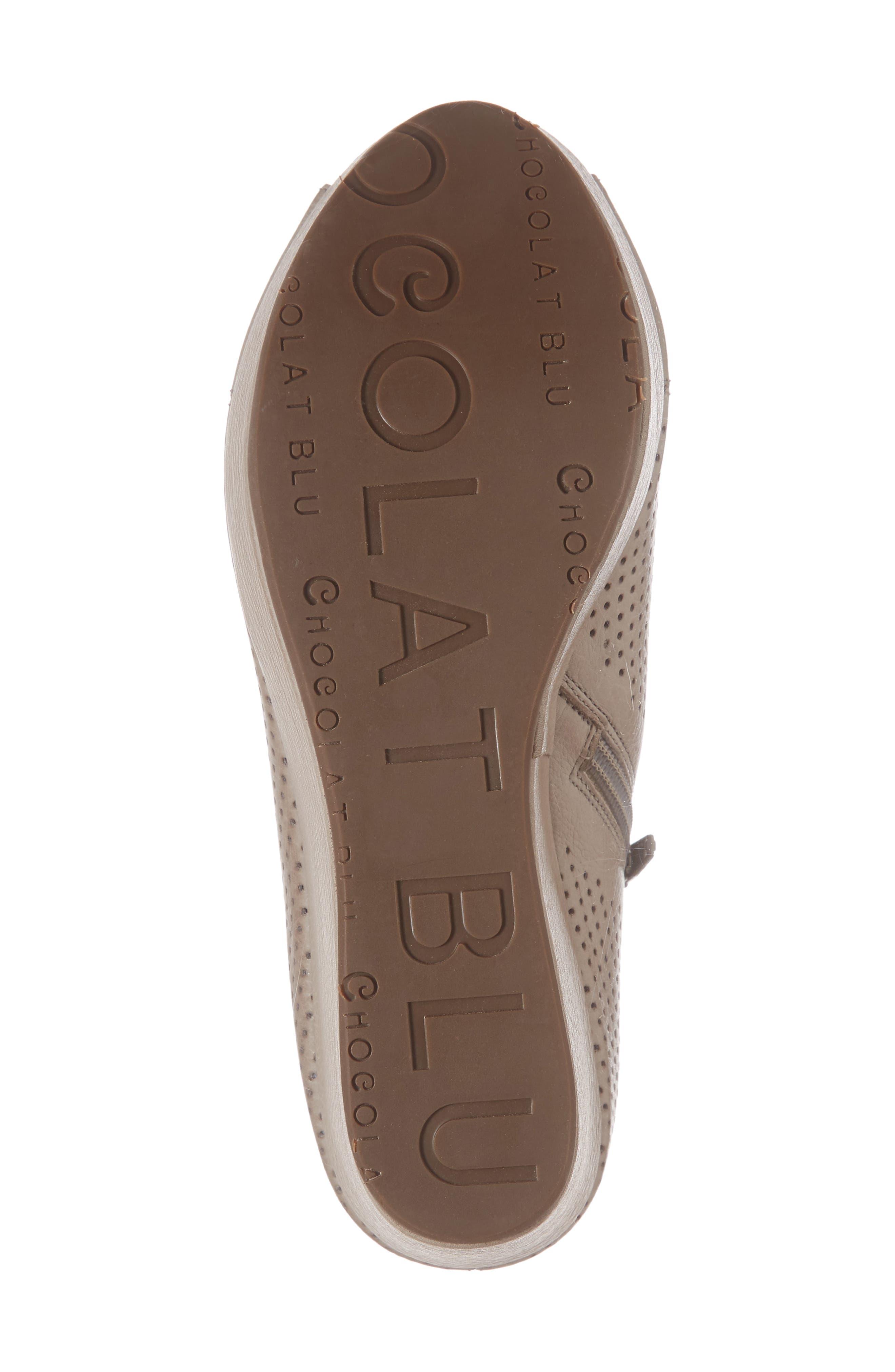 Wheeler Wedge Sandal,                             Alternate thumbnail 6, color,                             Grey Leather