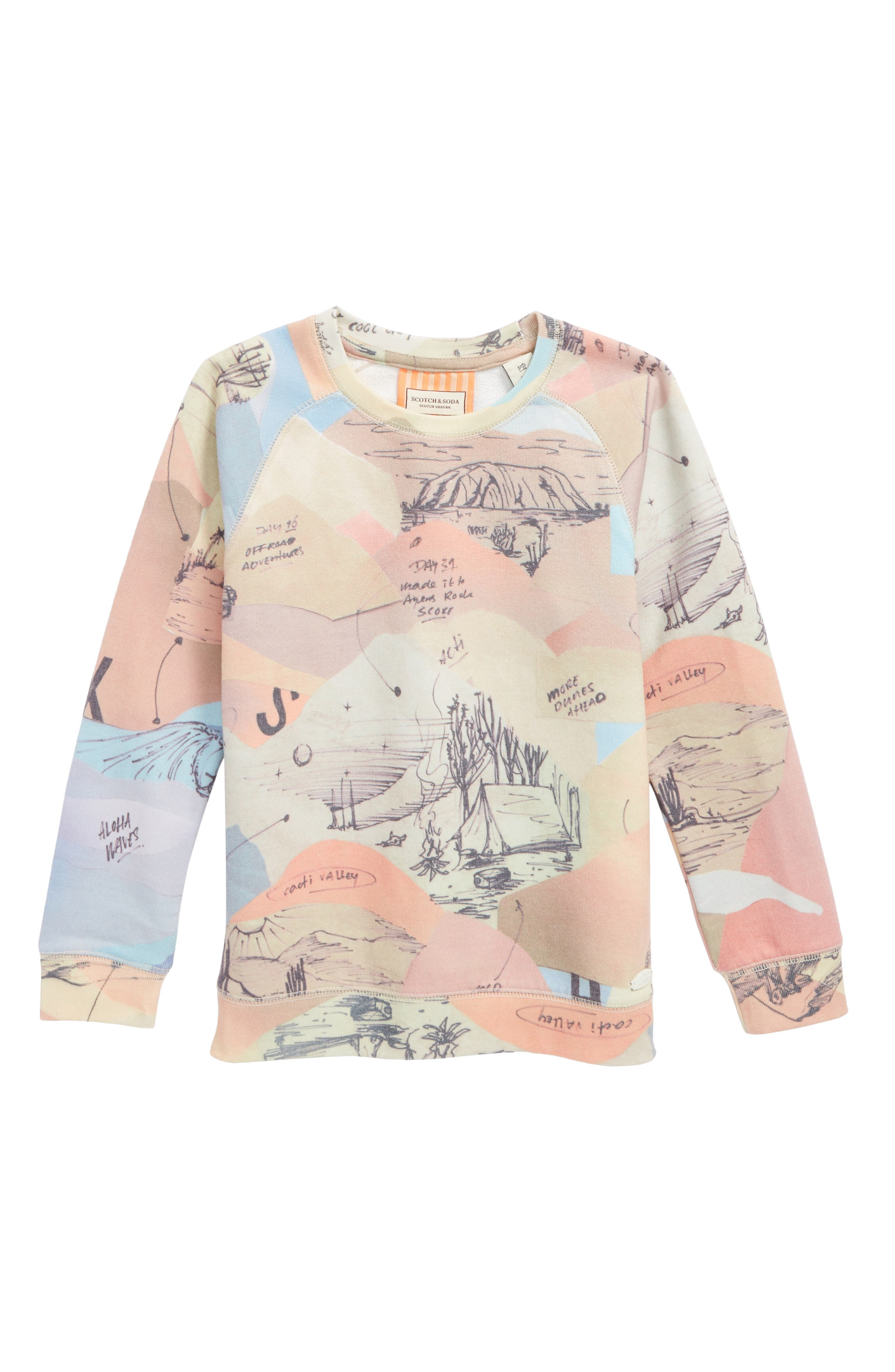 Scotch Shrunk All Over Print Pullover (Little Boys & Big Boys)