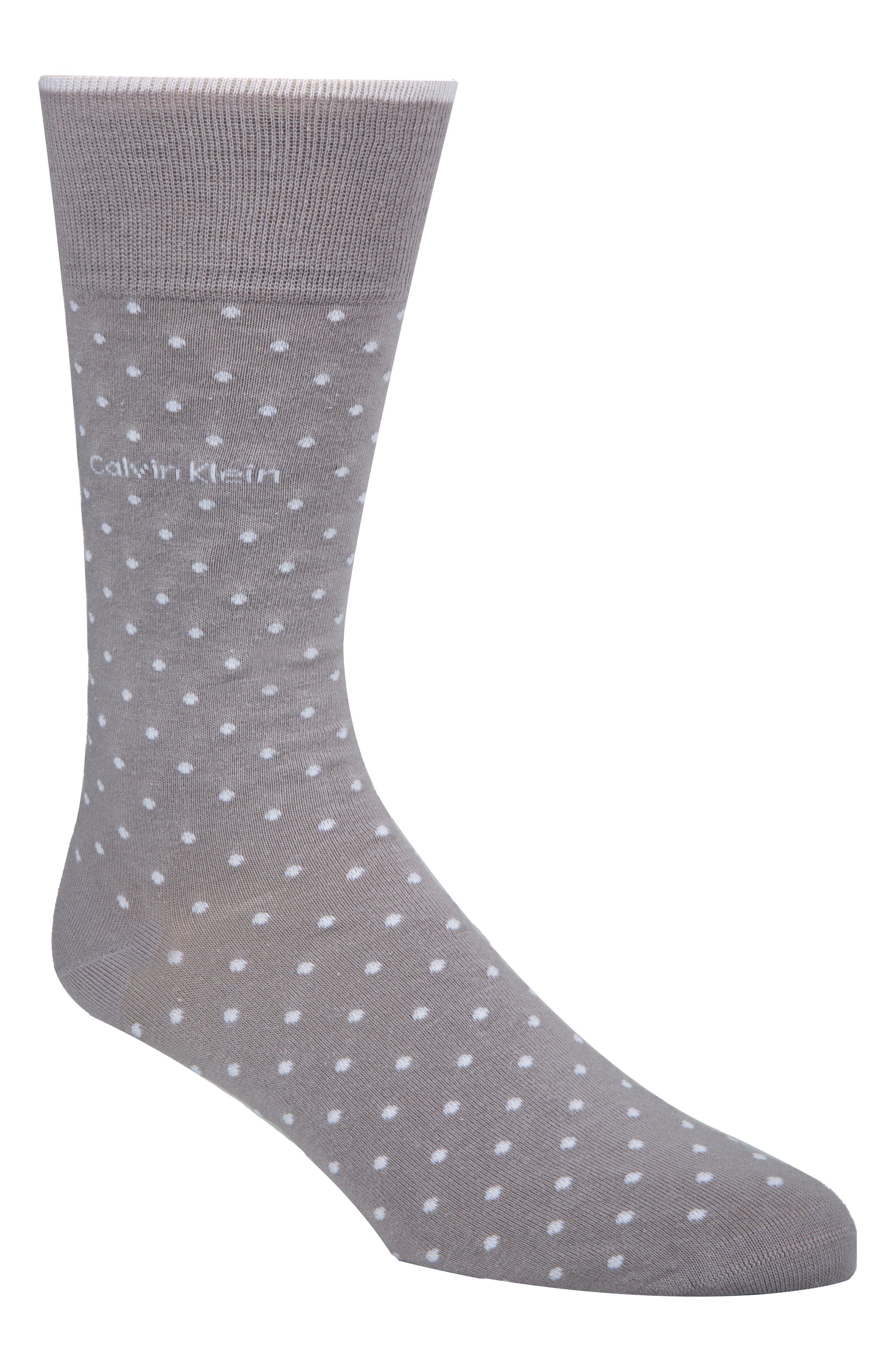 Dot Socks,                             Main thumbnail 1, color,                             Oxygen