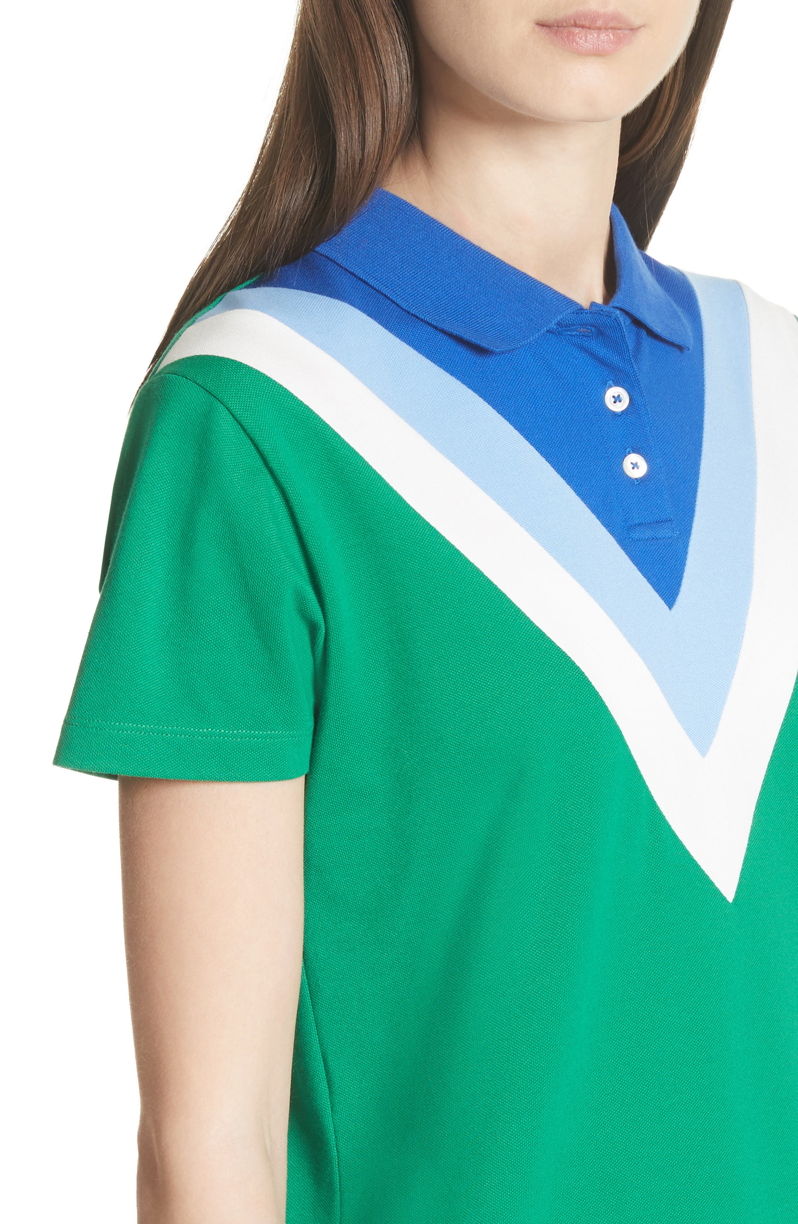 Chevron Polo,                             Alternate thumbnail 4, color,                             Vineyard