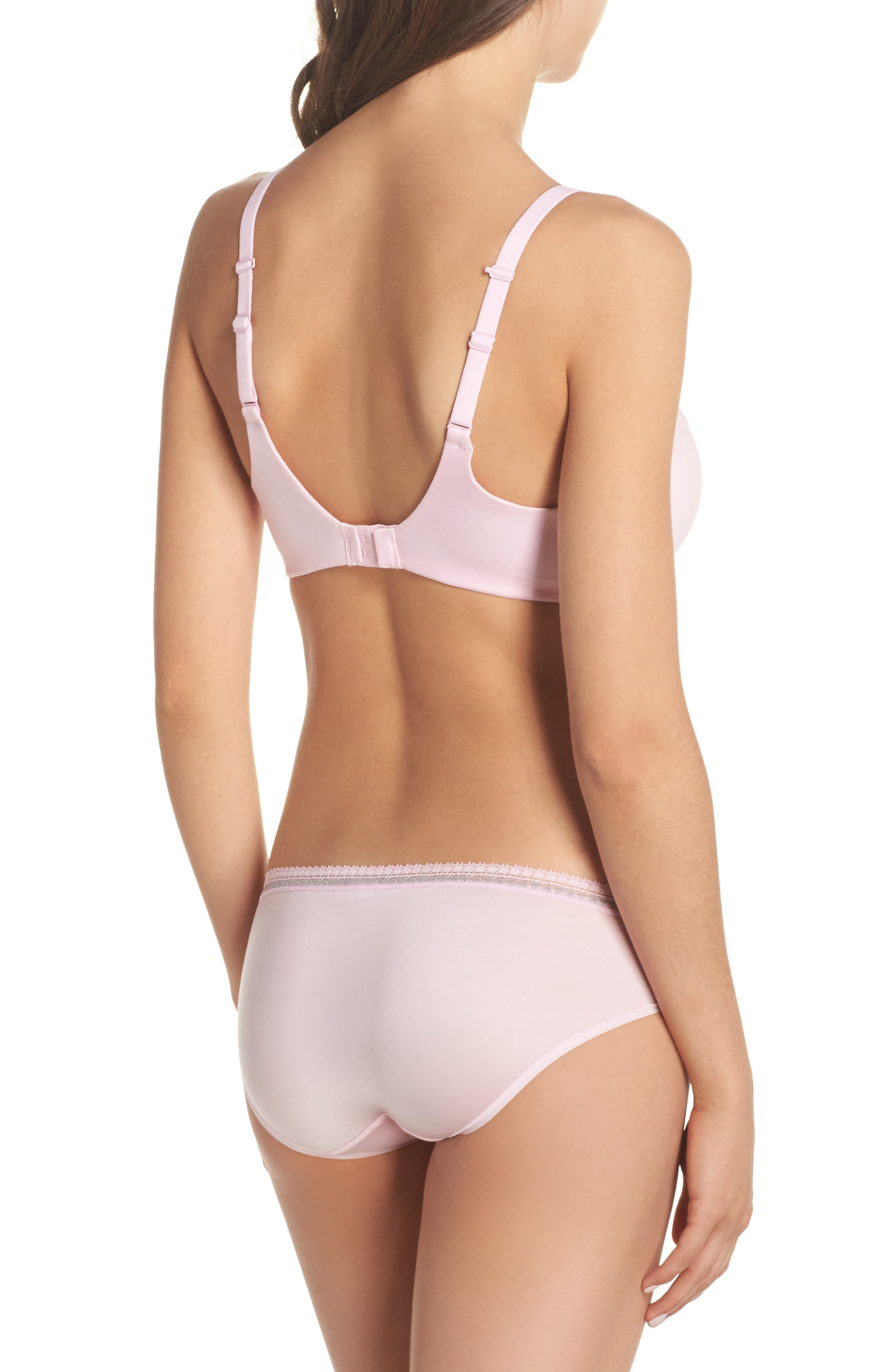 Bikini,                             Alternate thumbnail 4, color,                             Pink Lady