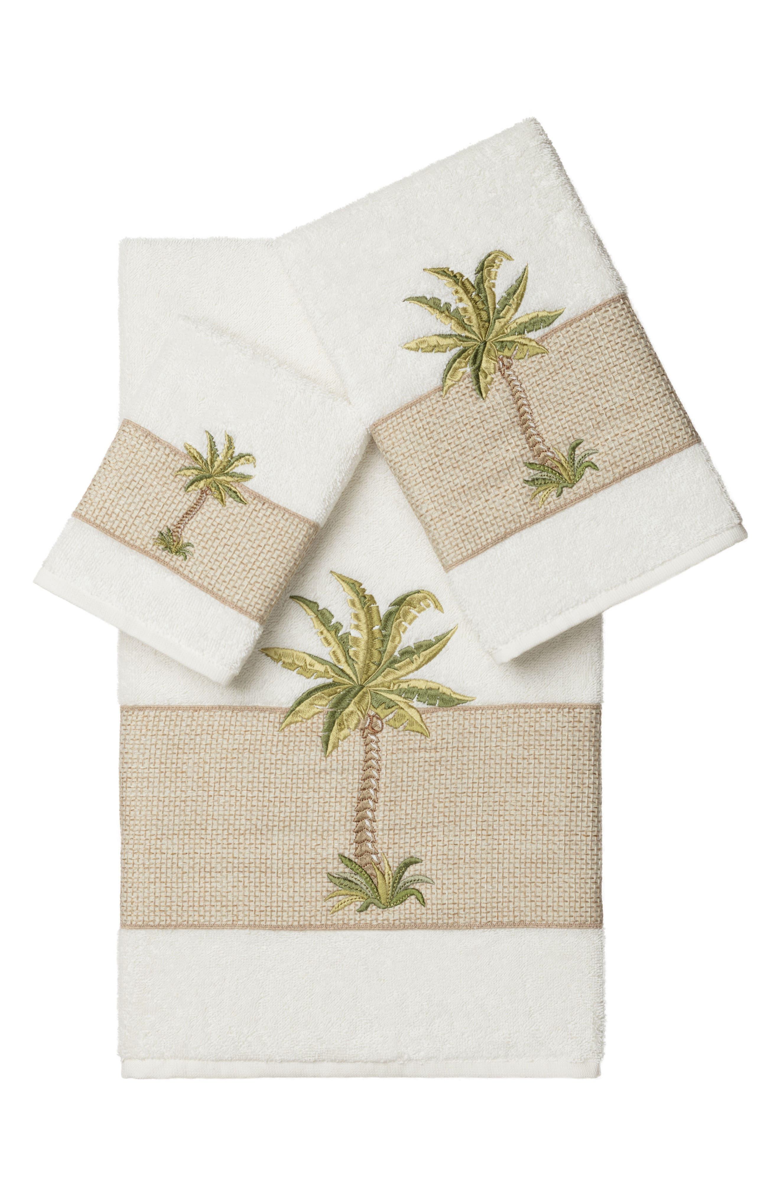 Colton 3-Piece Turkish Cotton Towel Set,                         Main,                         color, Cream
