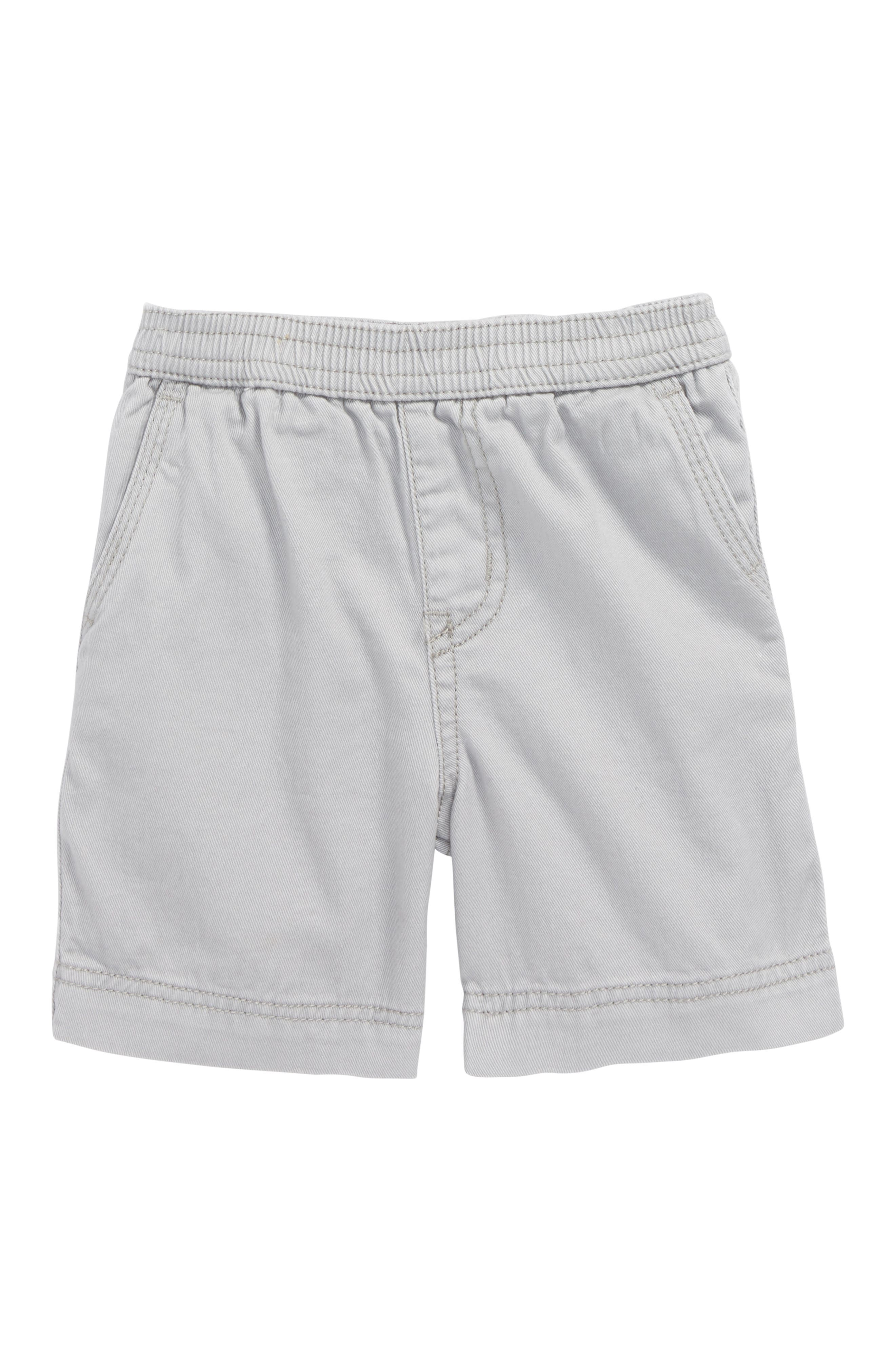 Easy Does It Twill Shorts,                             Main thumbnail 1, color,                             Storm Grey