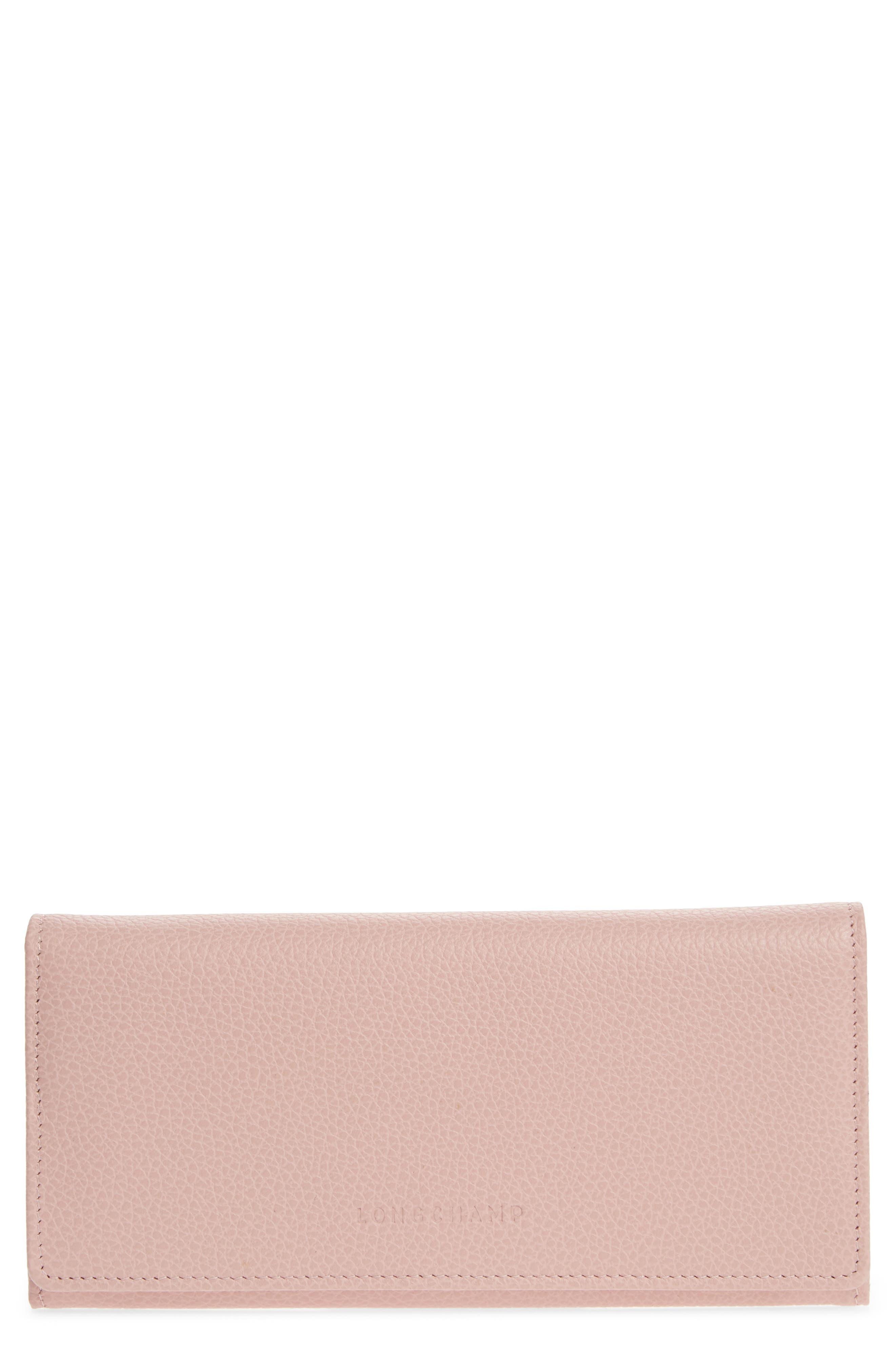 'Veau' Continental Wallet,                         Main,                         color, Powder