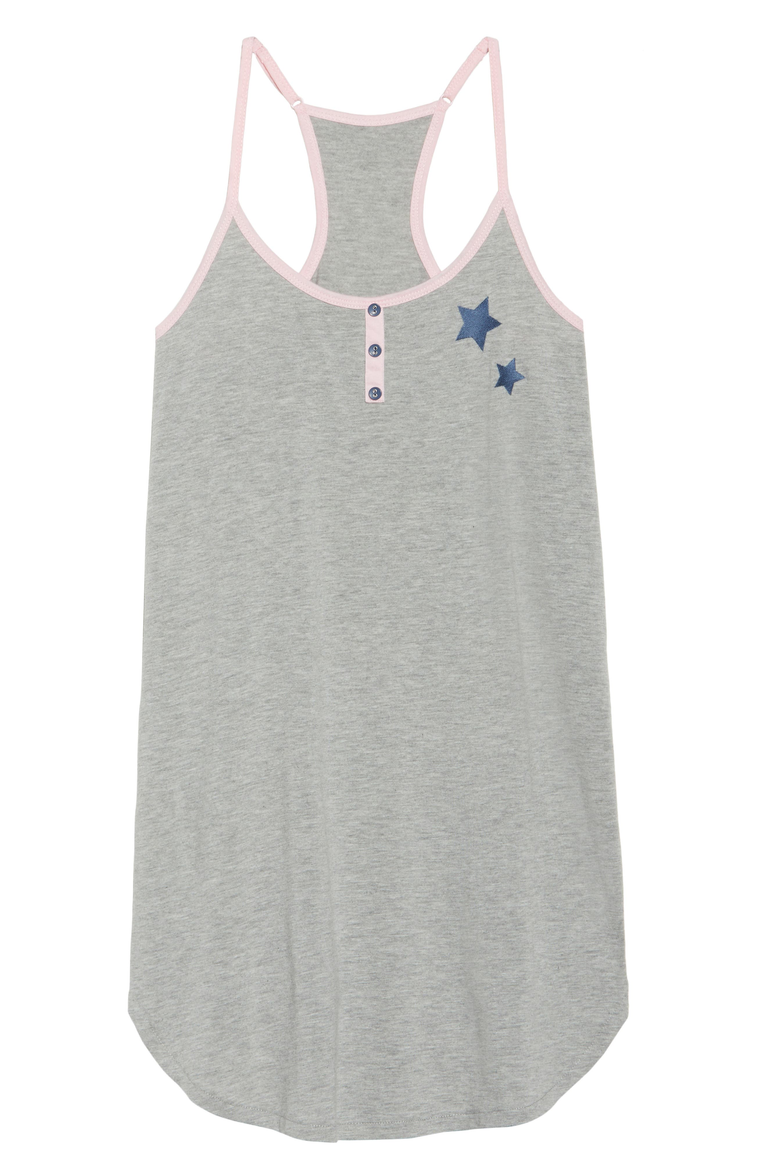 Jersey Chemise,                             Alternate thumbnail 6, color,                             H Grey