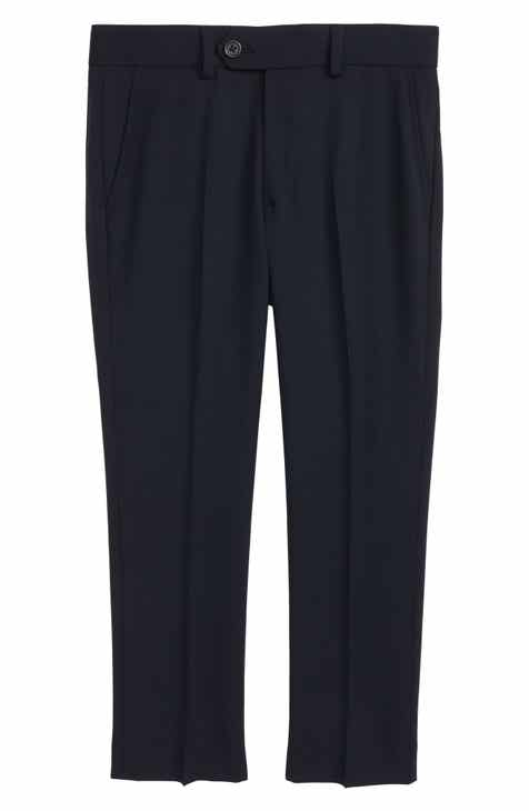 9ebe664c94 Tallia Solid Wool Blend Flat Front Trousers (Big Boys)