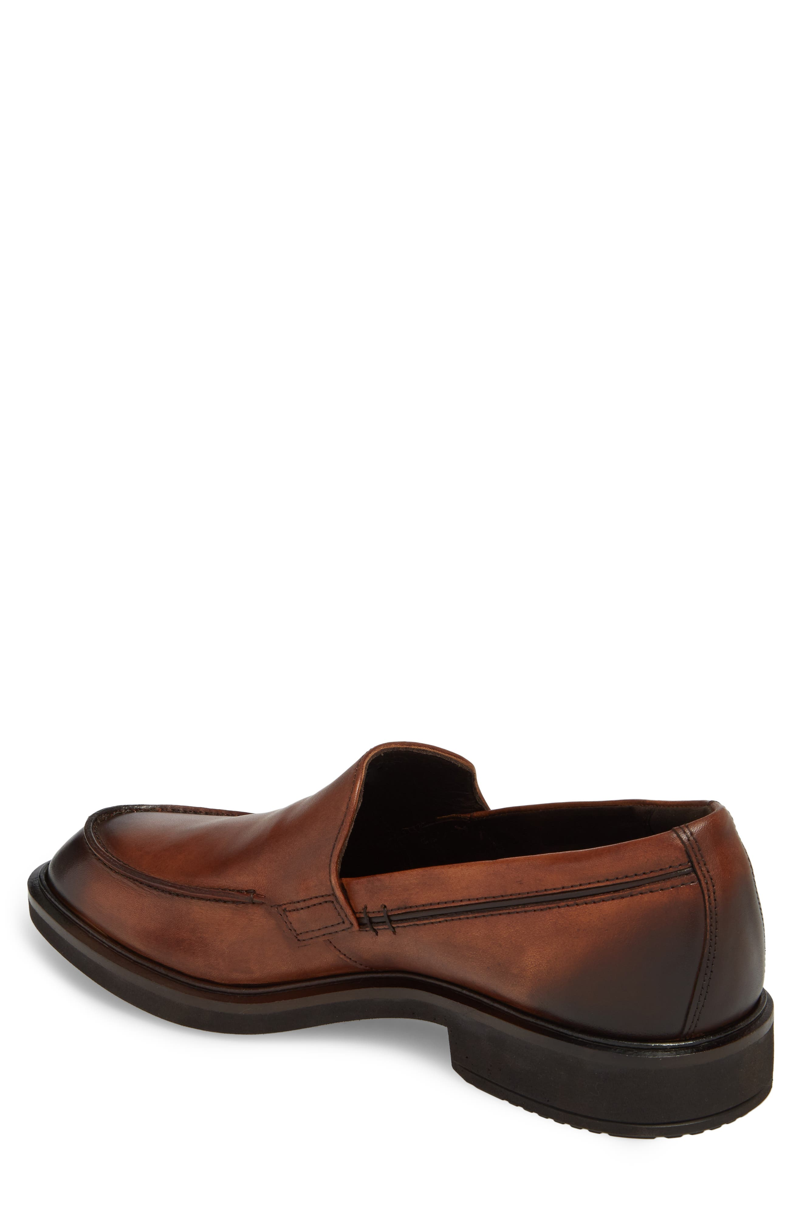 Alternate Image 2  - ECCO Vitrus II Apron Toe Loafer (Men)