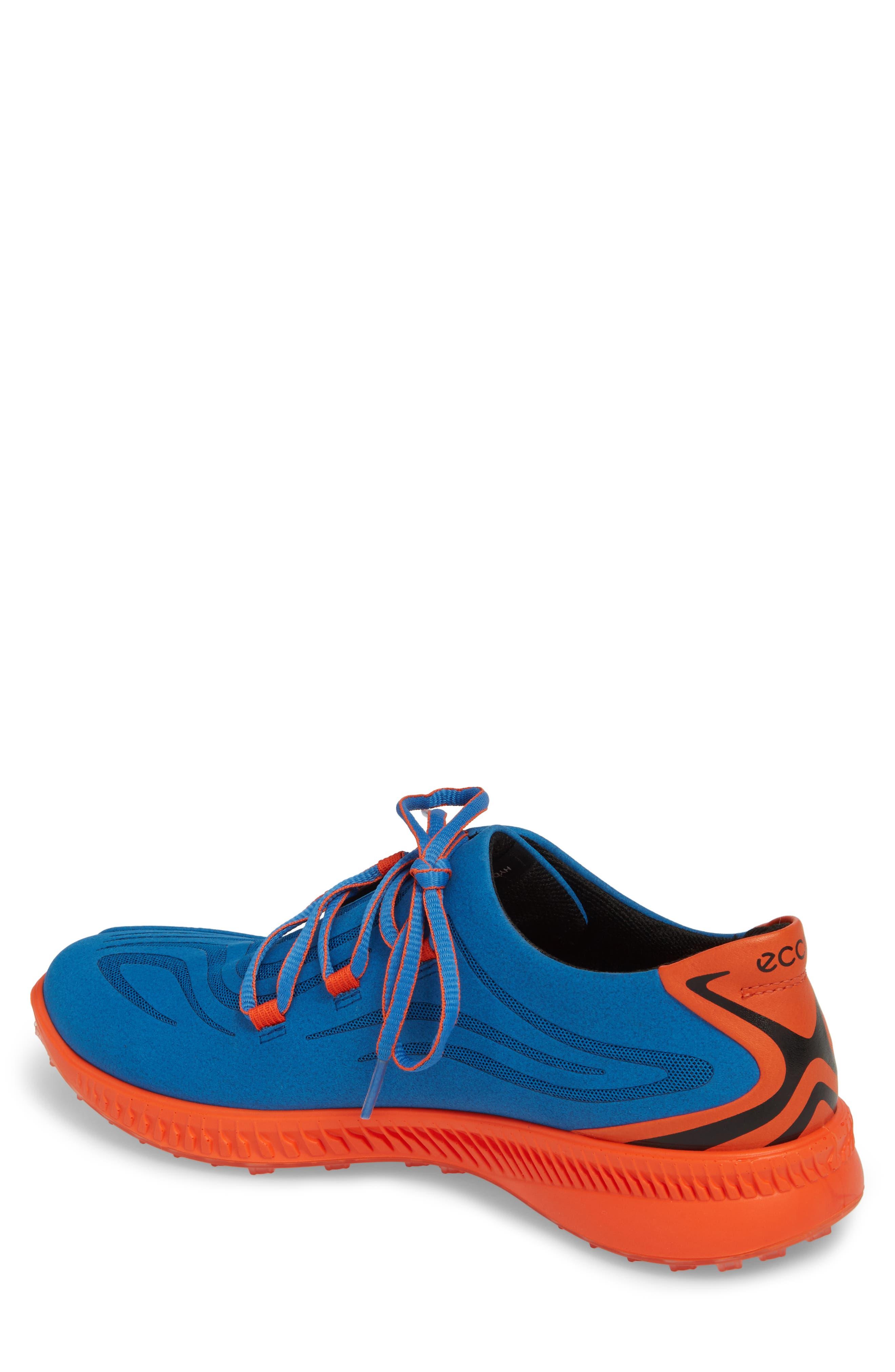 Golf S-Drive Water Resistant Shoe,                             Alternate thumbnail 2, color,                             Bermuda Blue Leather