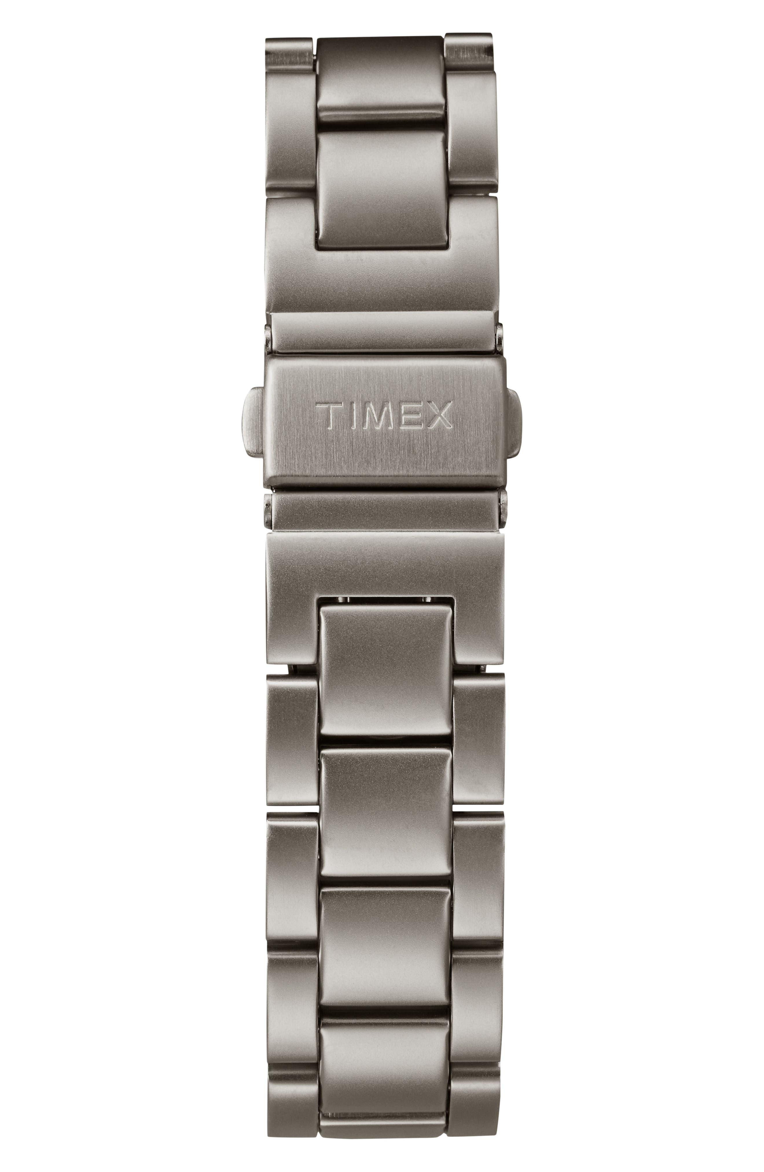Allied Chronograph Bracelet Watch, 42mm,                             Alternate thumbnail 2, color,                             Grey/ Black/ Grey