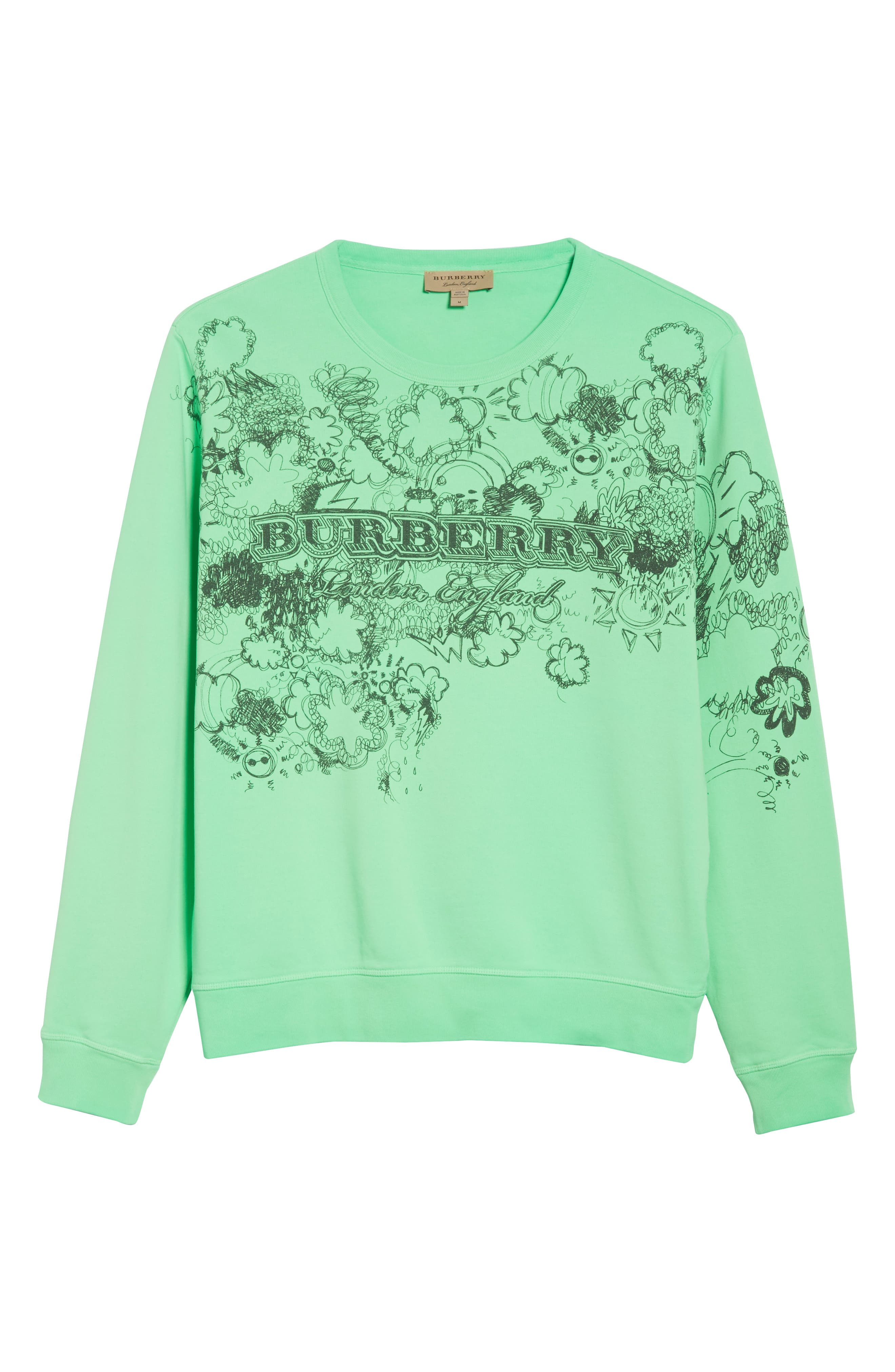 Alternate Image 6  - Burberry Madon Graphic Sweatshirt