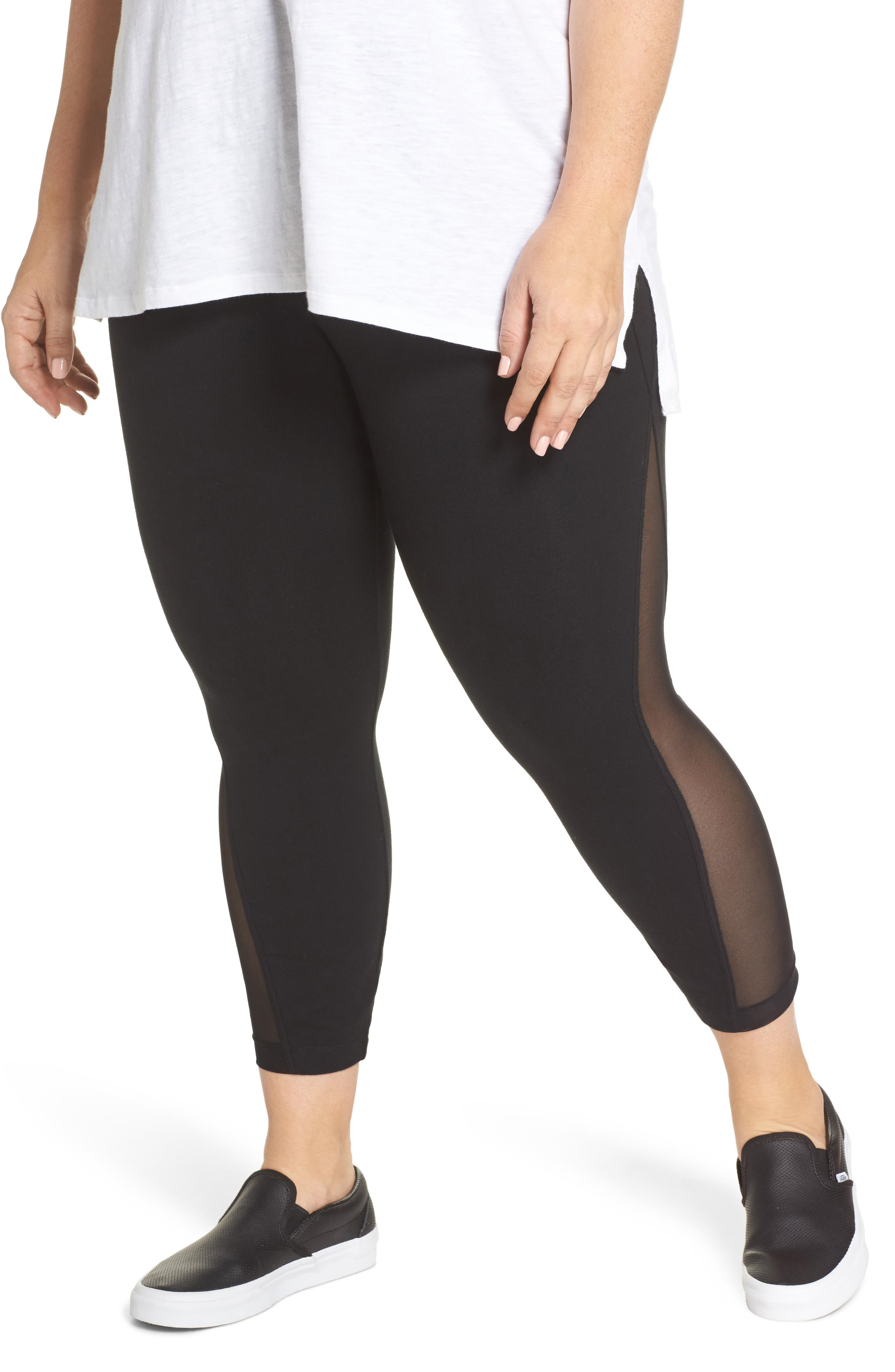 Lyssé Skylar Crop Leggings (Plus Size)