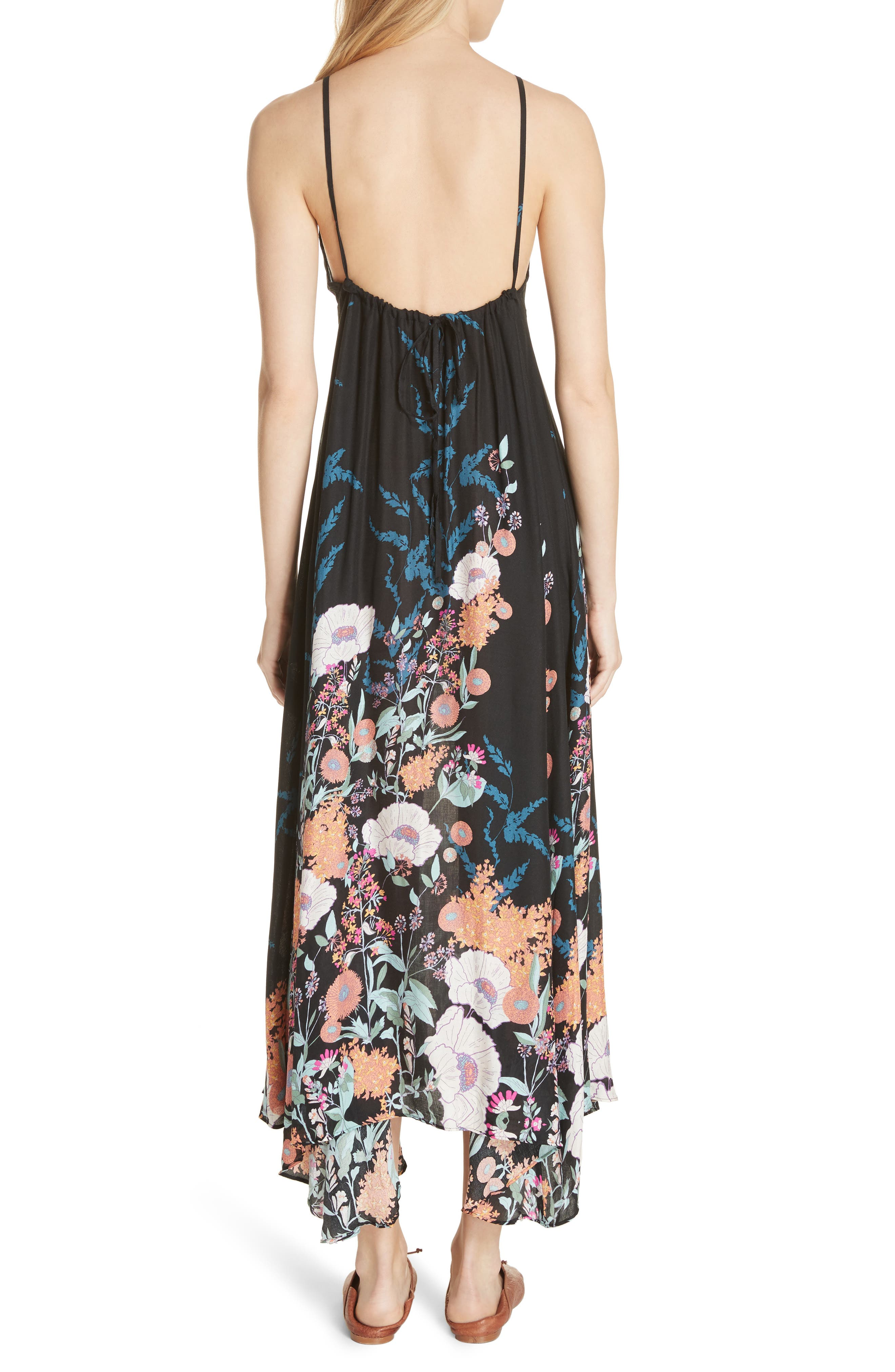 Embrace It Maxi Dress,                             Alternate thumbnail 2, color,                             Black Combo