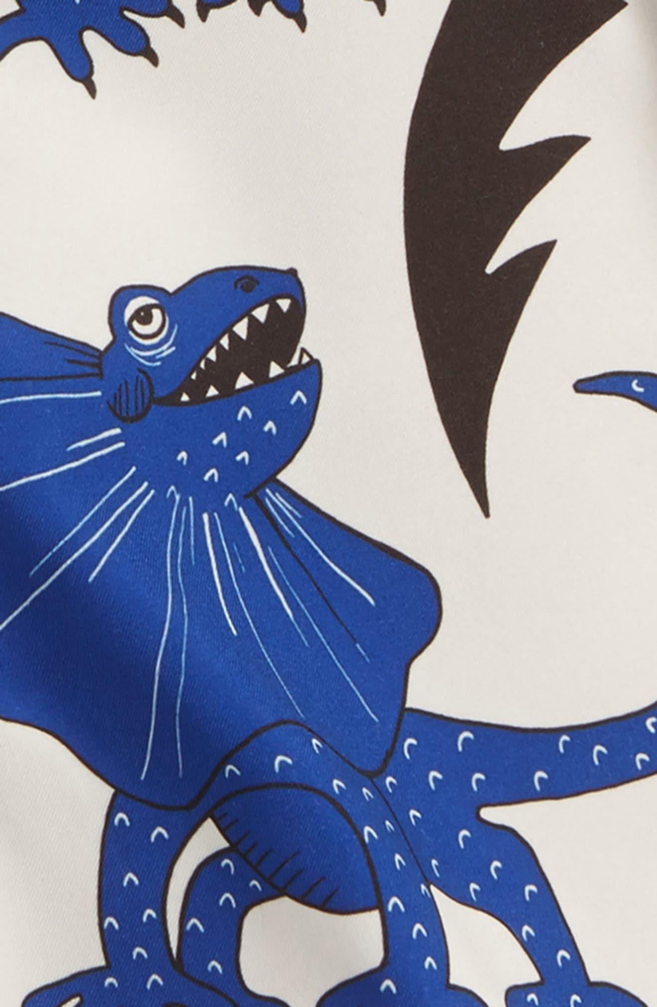 Draco Swim Trunks,                             Alternate thumbnail 3, color,                             Blue