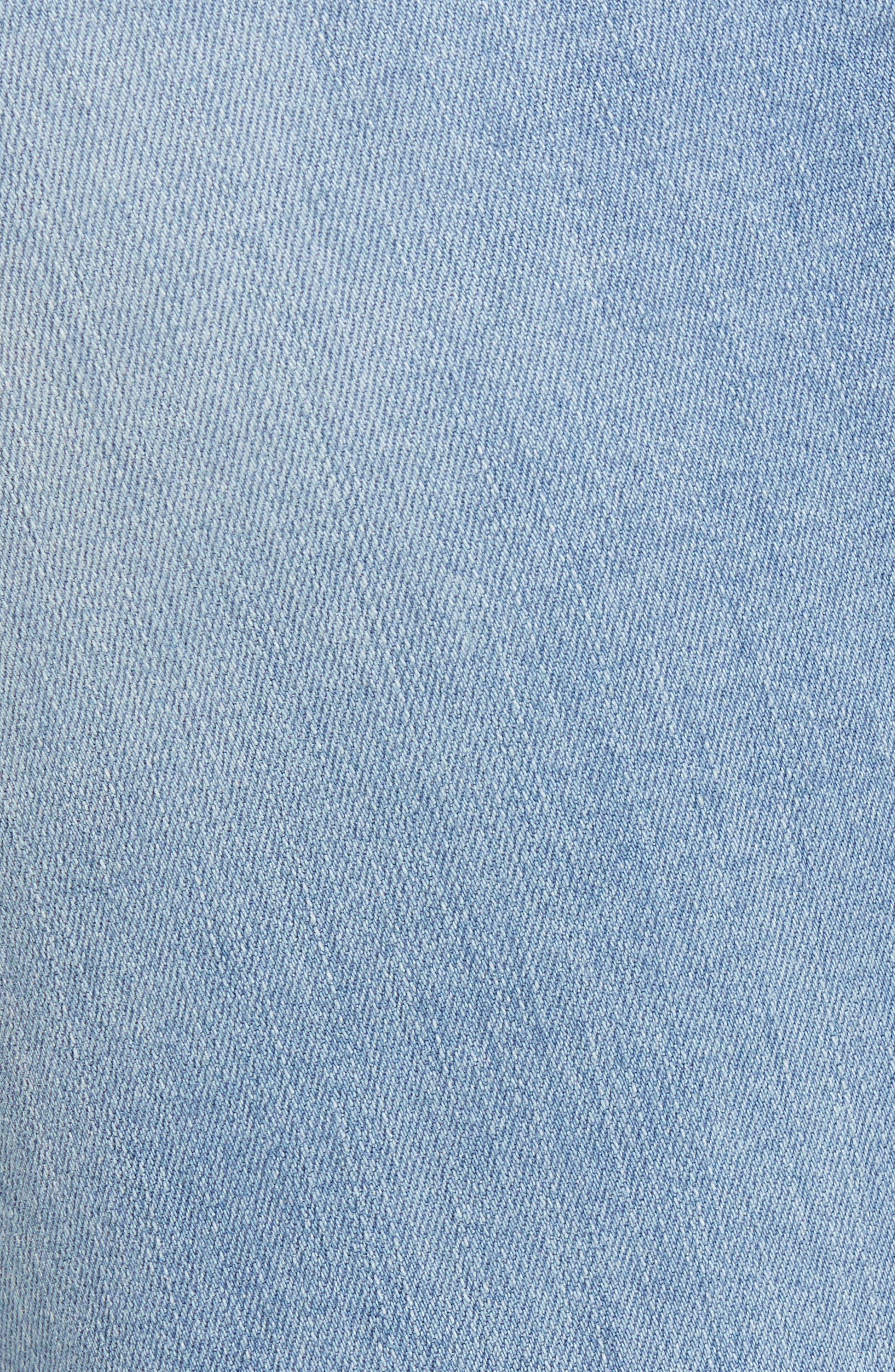 Lea Boyfriend Ripped Jeans,                             Alternate thumbnail 6, color,                             Light Ripped Vintage