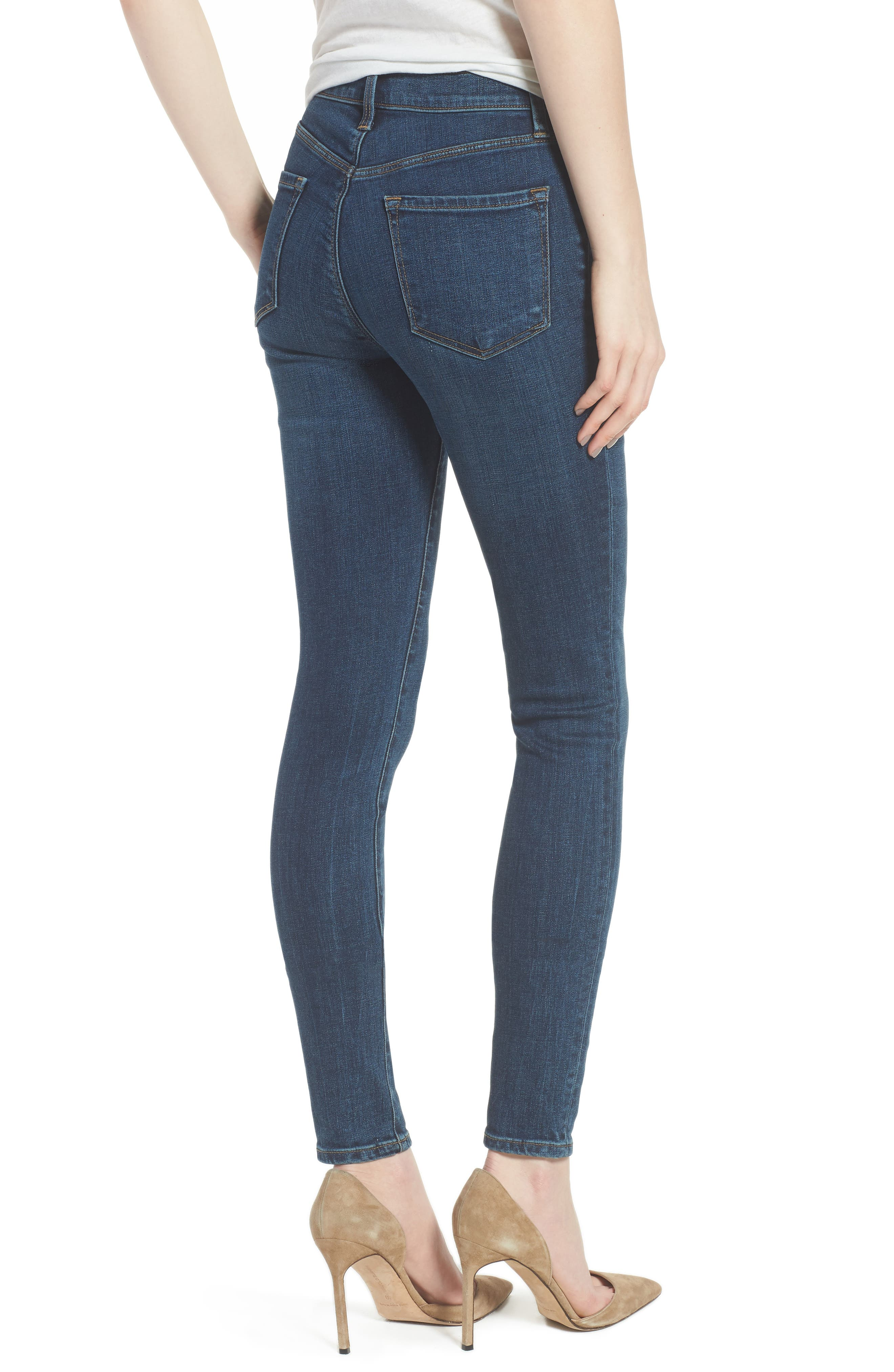 Maria High Waist Skinny Jeans,                             Alternate thumbnail 2, color,                             Revival