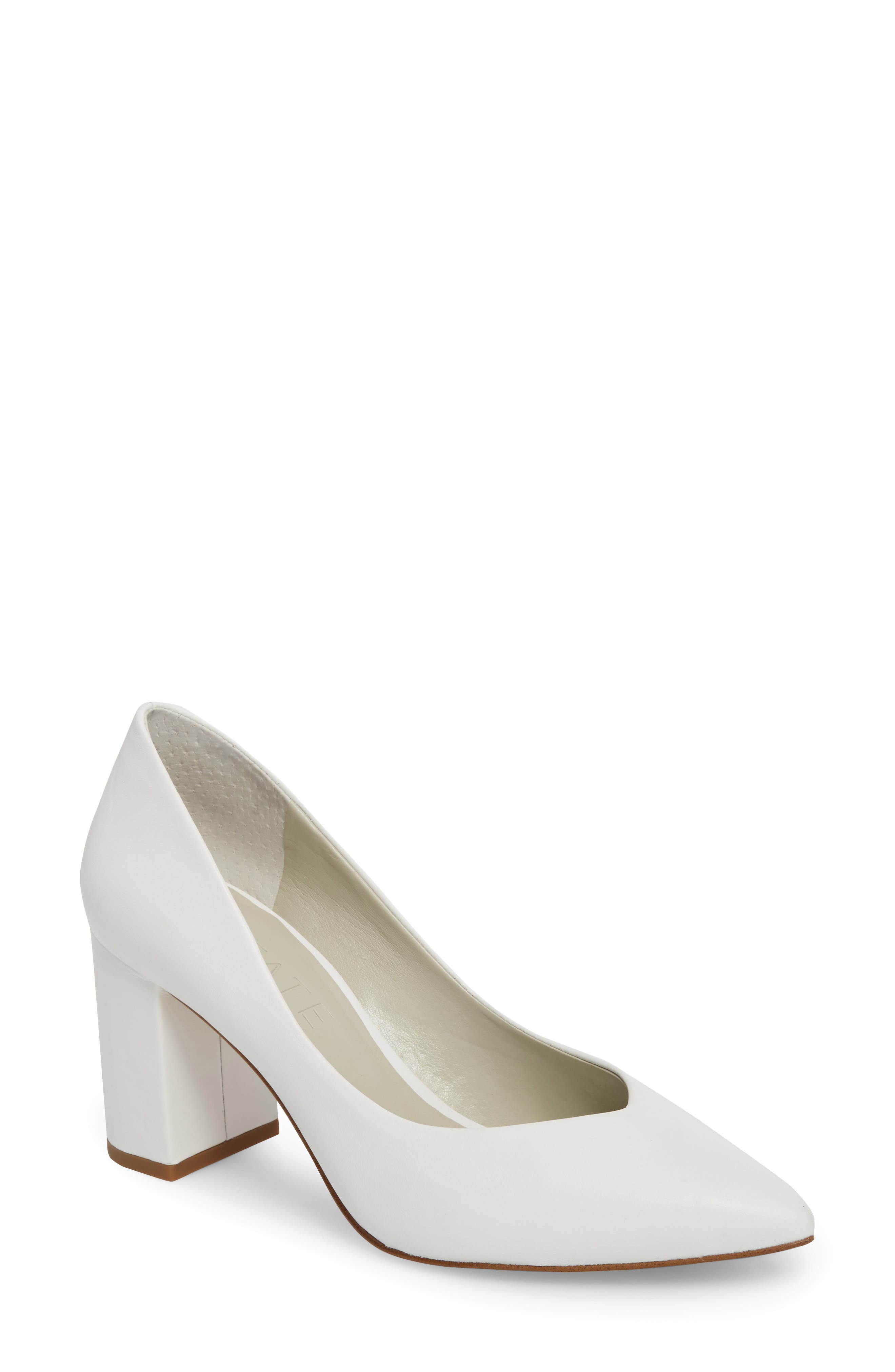 1.STATE Saffy Block Heel Pump (Women)