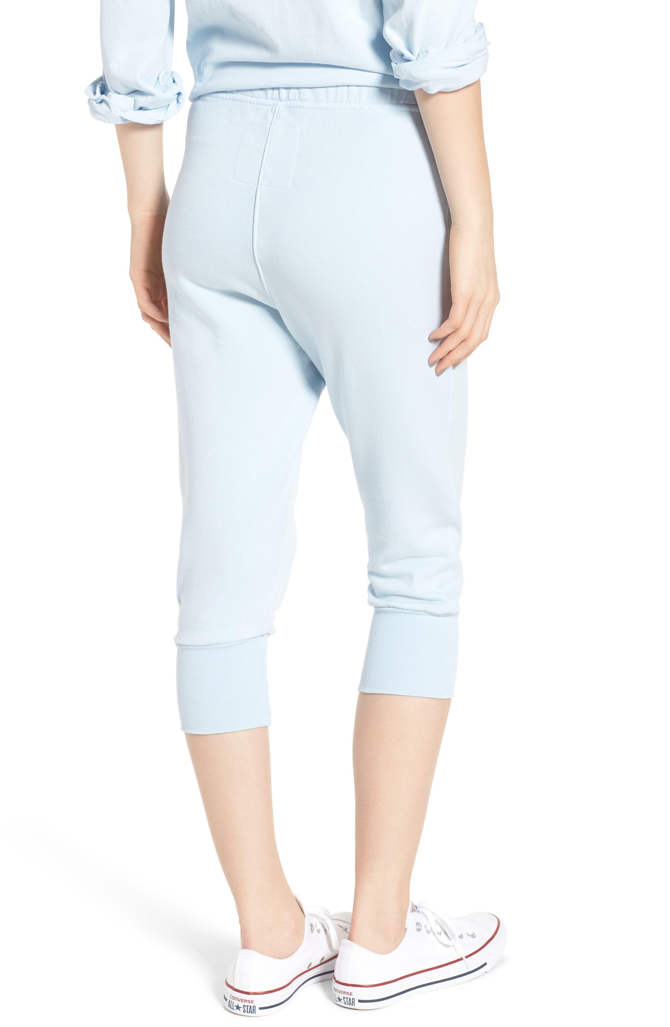 Crop Sweatpants,                             Alternate thumbnail 2, color,                             Mali-Blue