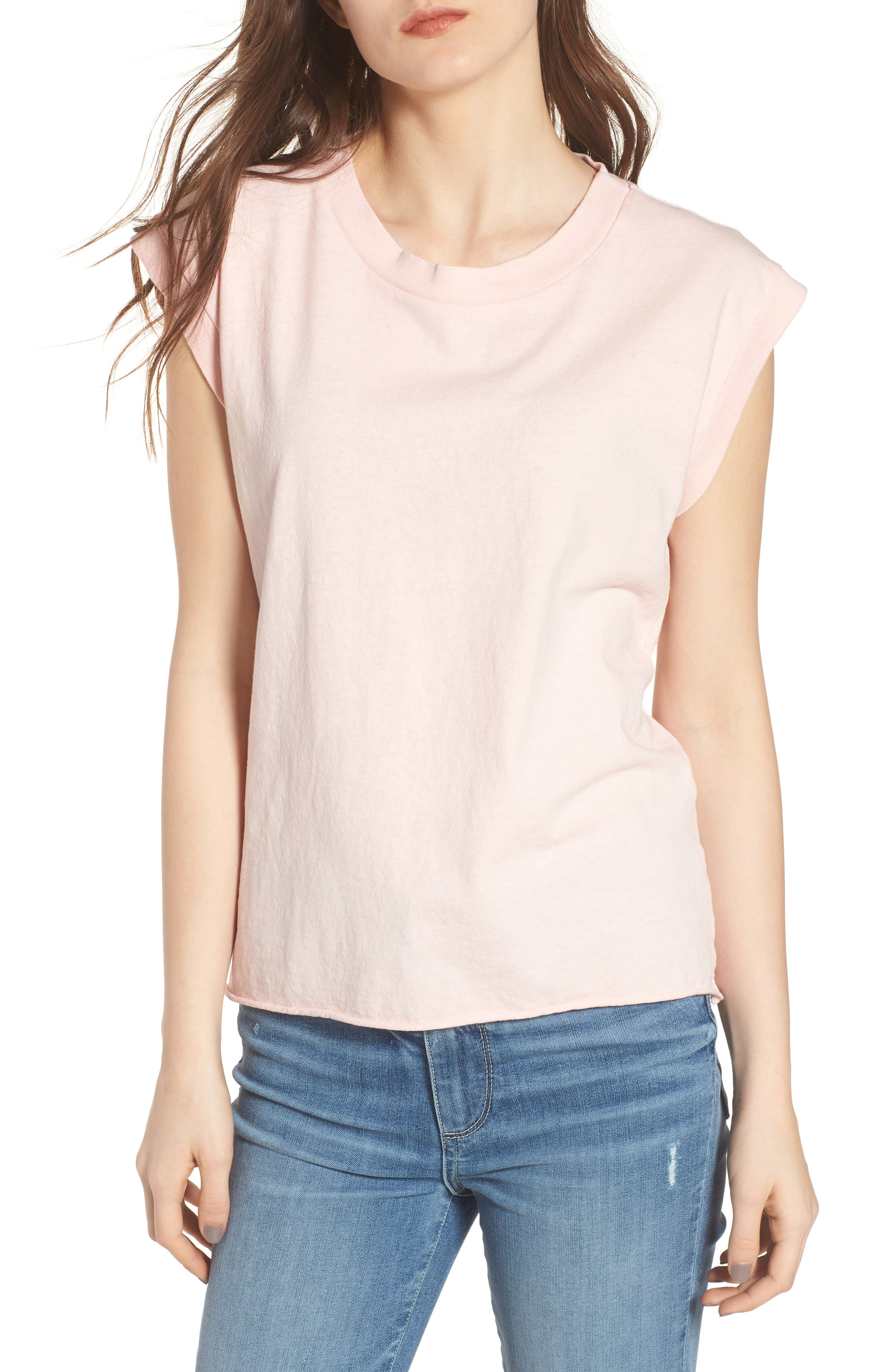 Muscle Tee,                         Main,                         color, Love Letter