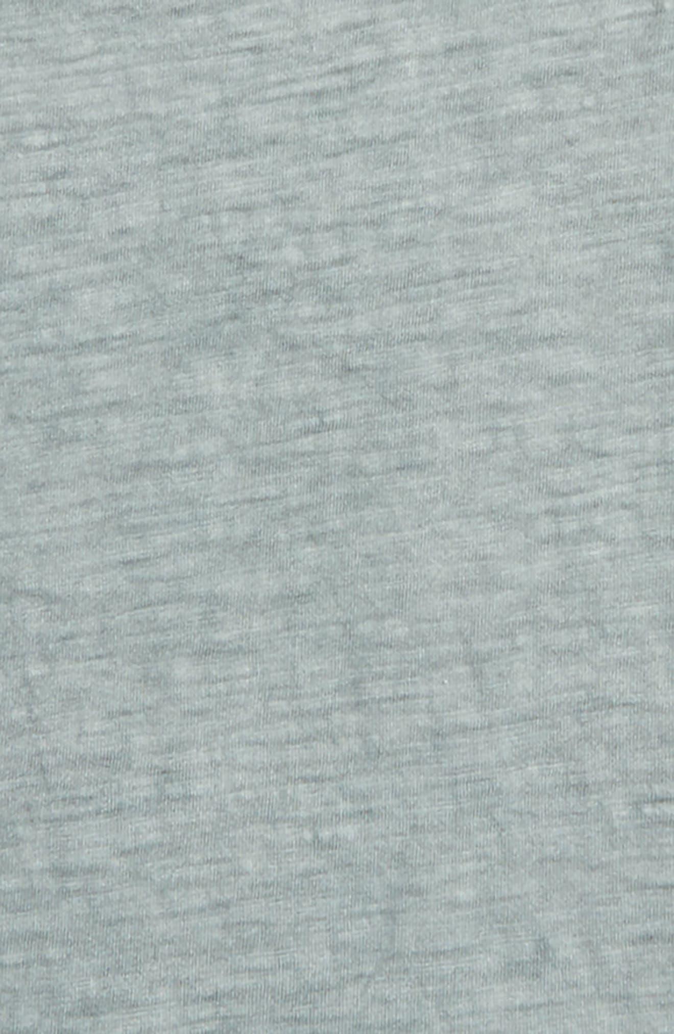 Longline T-Shirt,                             Alternate thumbnail 2, color,                             Teal Pond