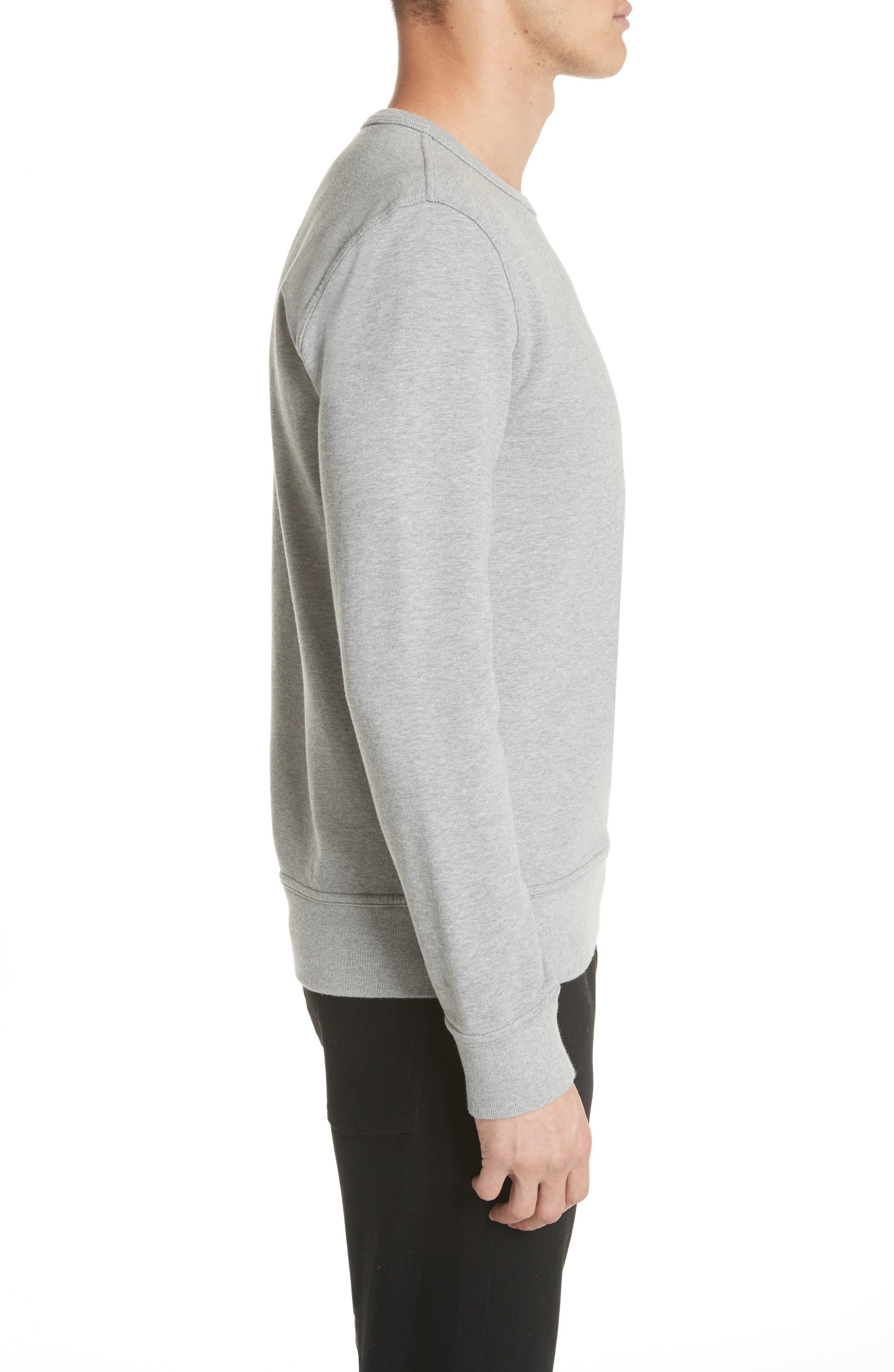 Pocket Sweatshirt,                             Alternate thumbnail 3, color,                             Grey