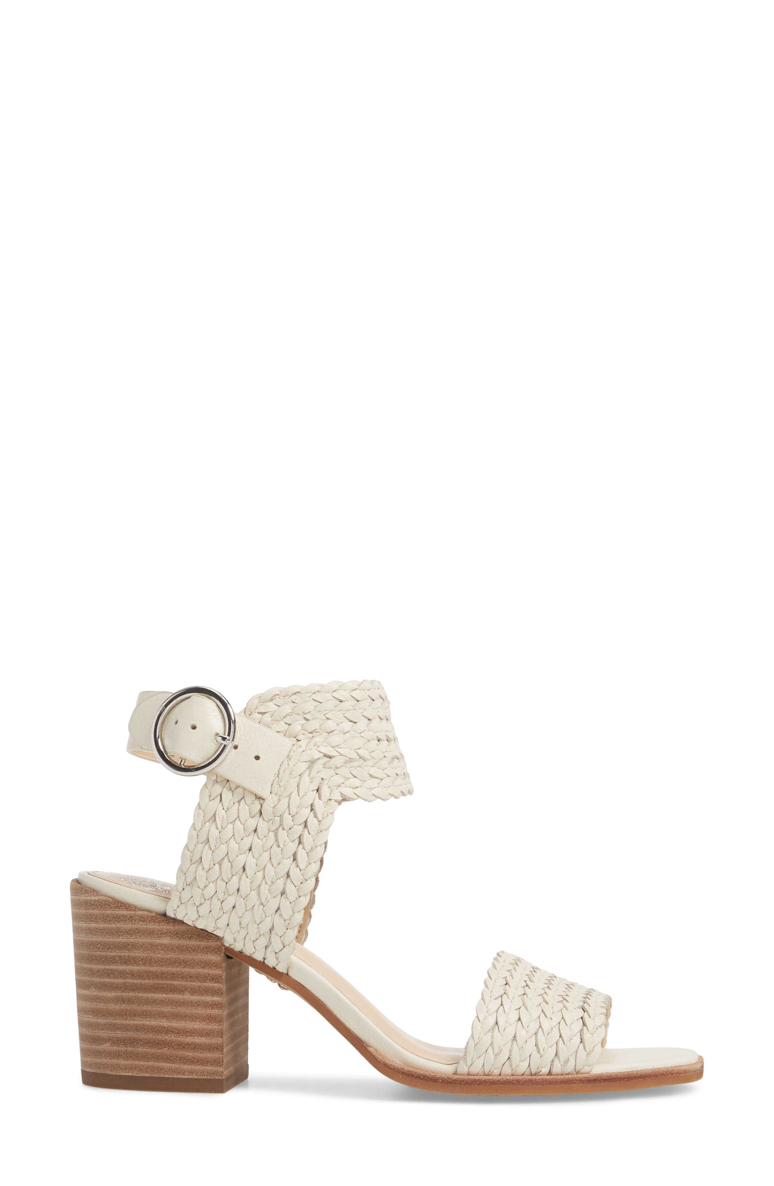 Kolema Sandal,                             Alternate thumbnail 3, color,                             Vanilla Fabric