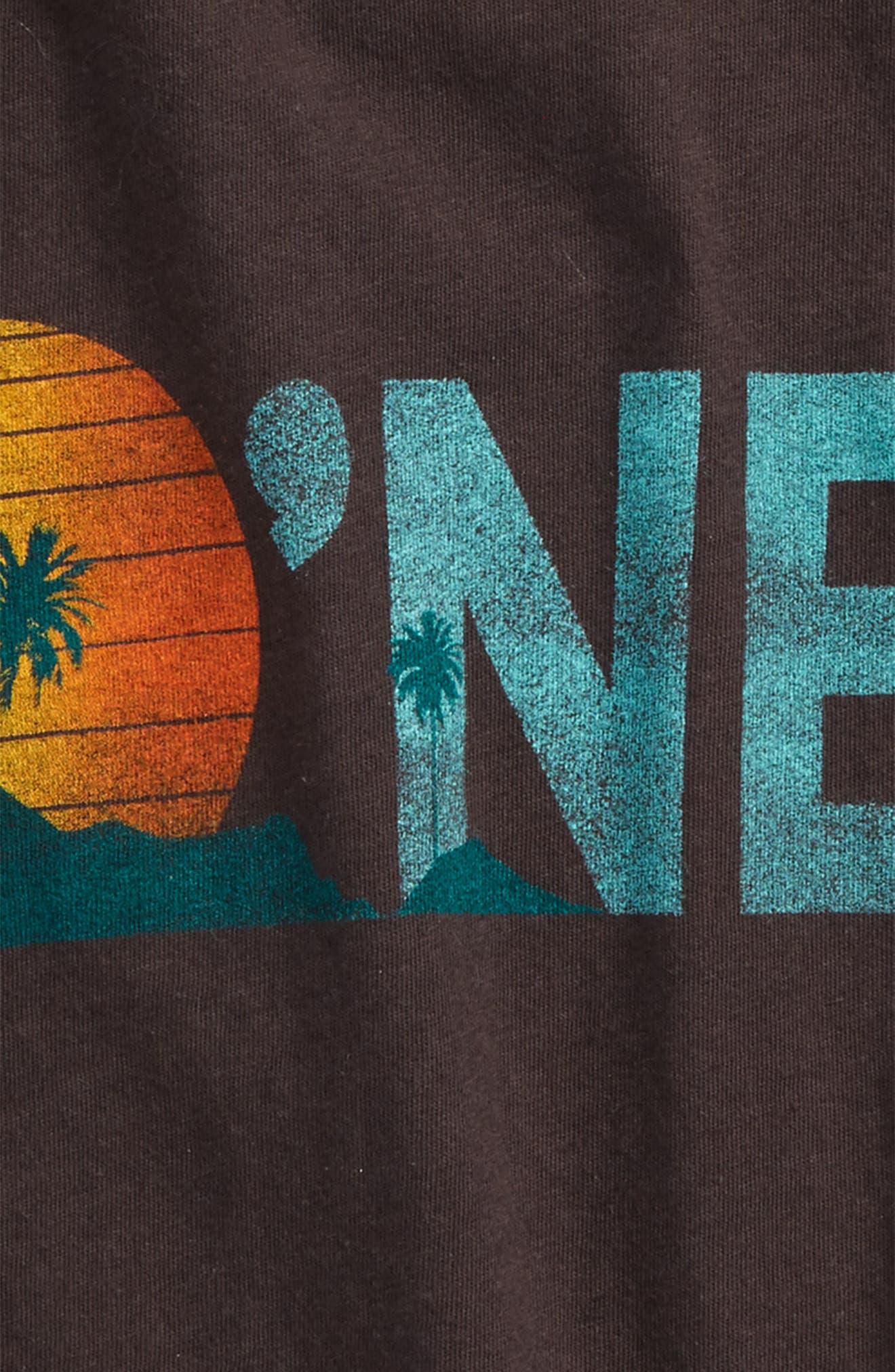 Aloha Beach Logo Tank,                             Alternate thumbnail 2, color,                             Washed Black