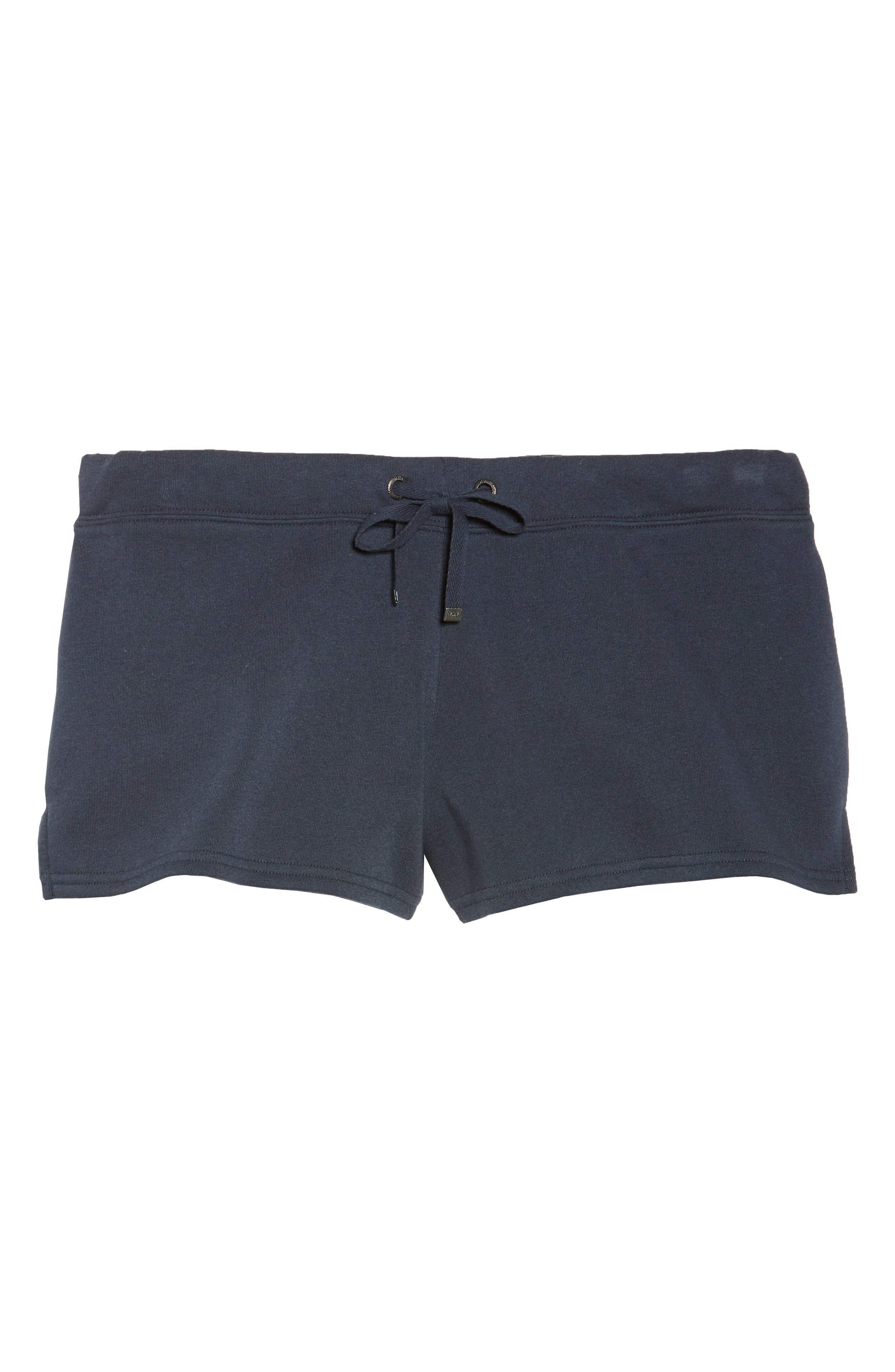 Take It Easy Lounge Shorts,                             Alternate thumbnail 4, color,                             Navy Blue
