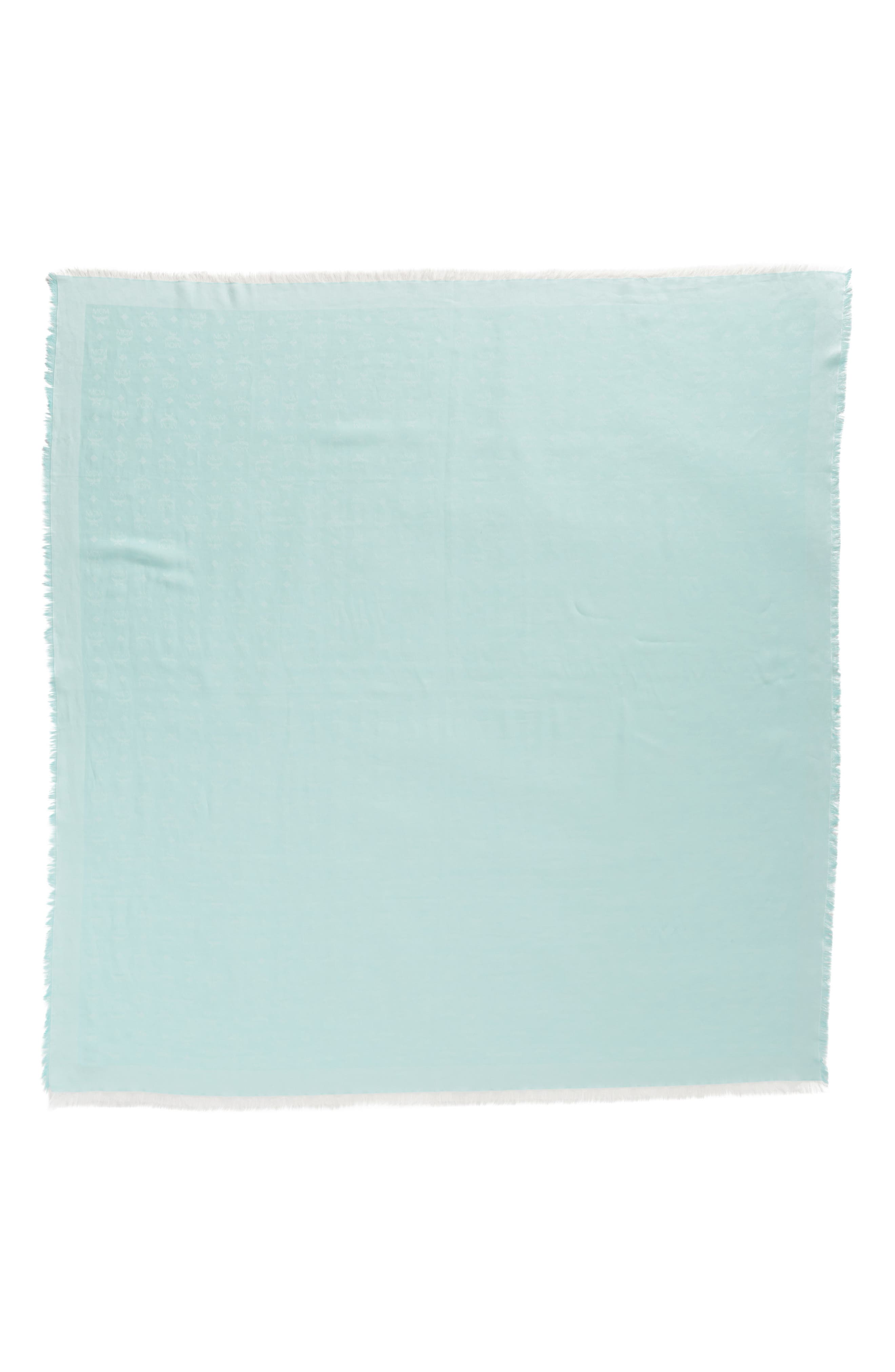 MCM Monogram Basic Jacquard Square Cotton Scarf
