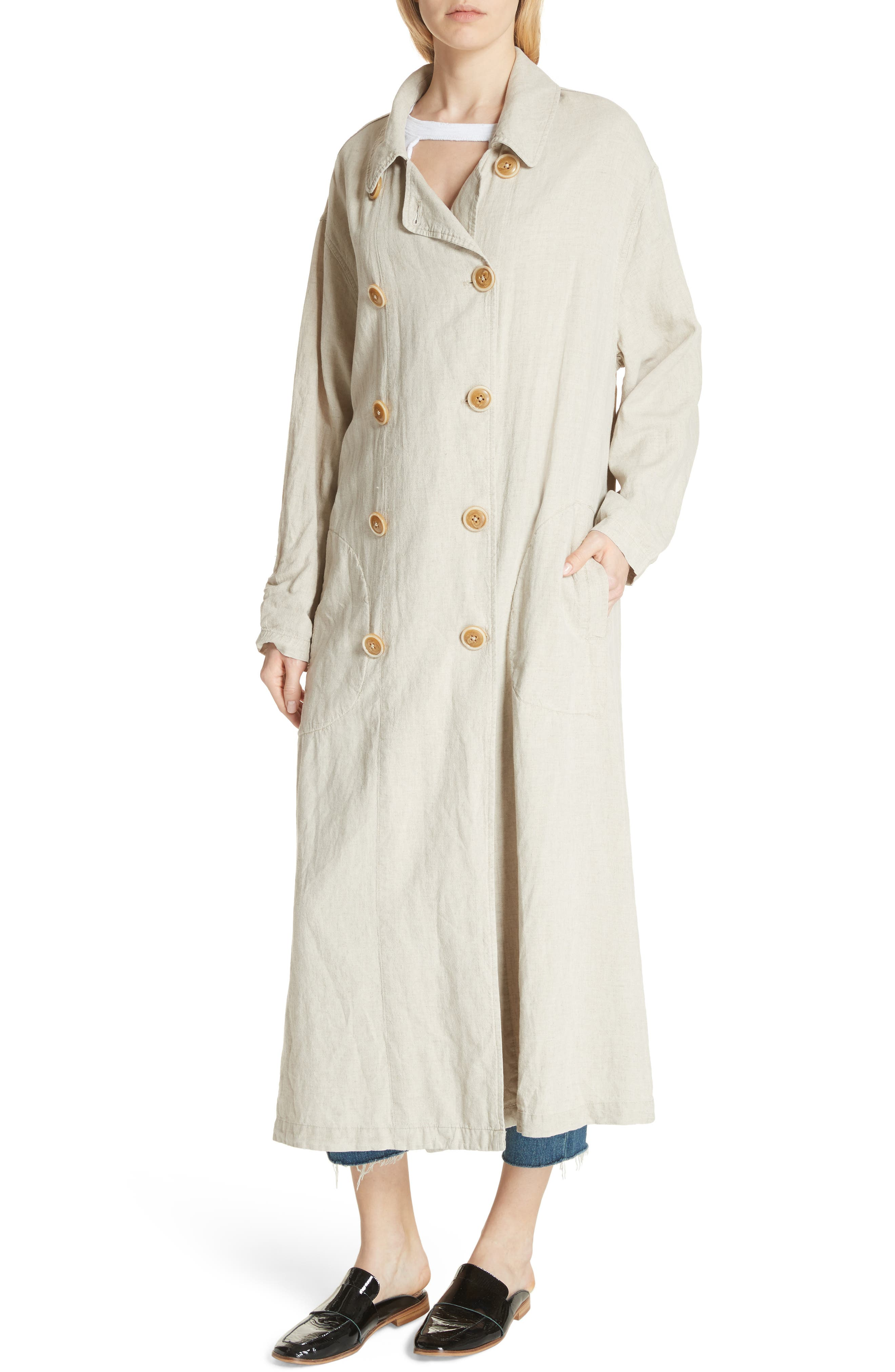 Sweet Melody Duster Jacket,                             Alternate thumbnail 4, color,                             Sand