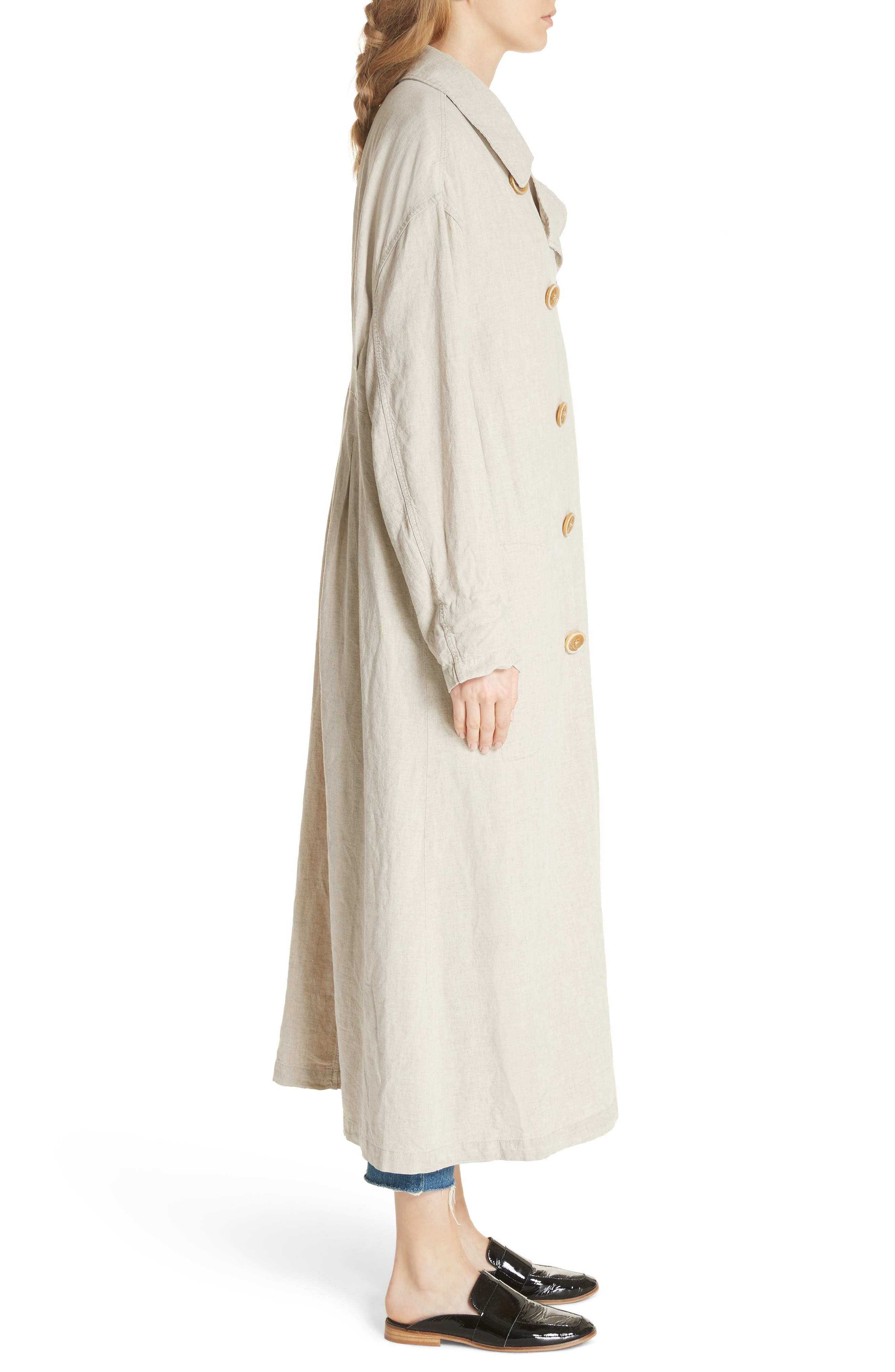 Sweet Melody Duster Jacket,                             Alternate thumbnail 3, color,                             Sand