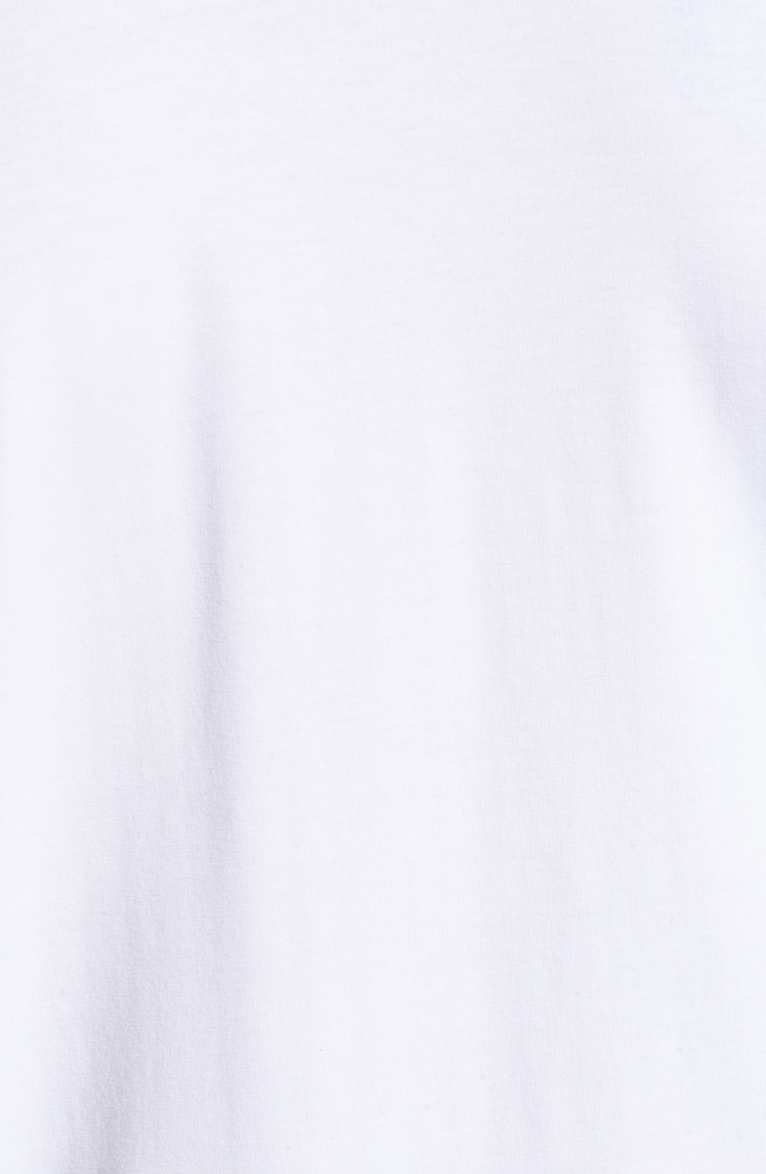 Charge II Long Sleeve T-Shirt,                             Alternate thumbnail 5, color,                             White