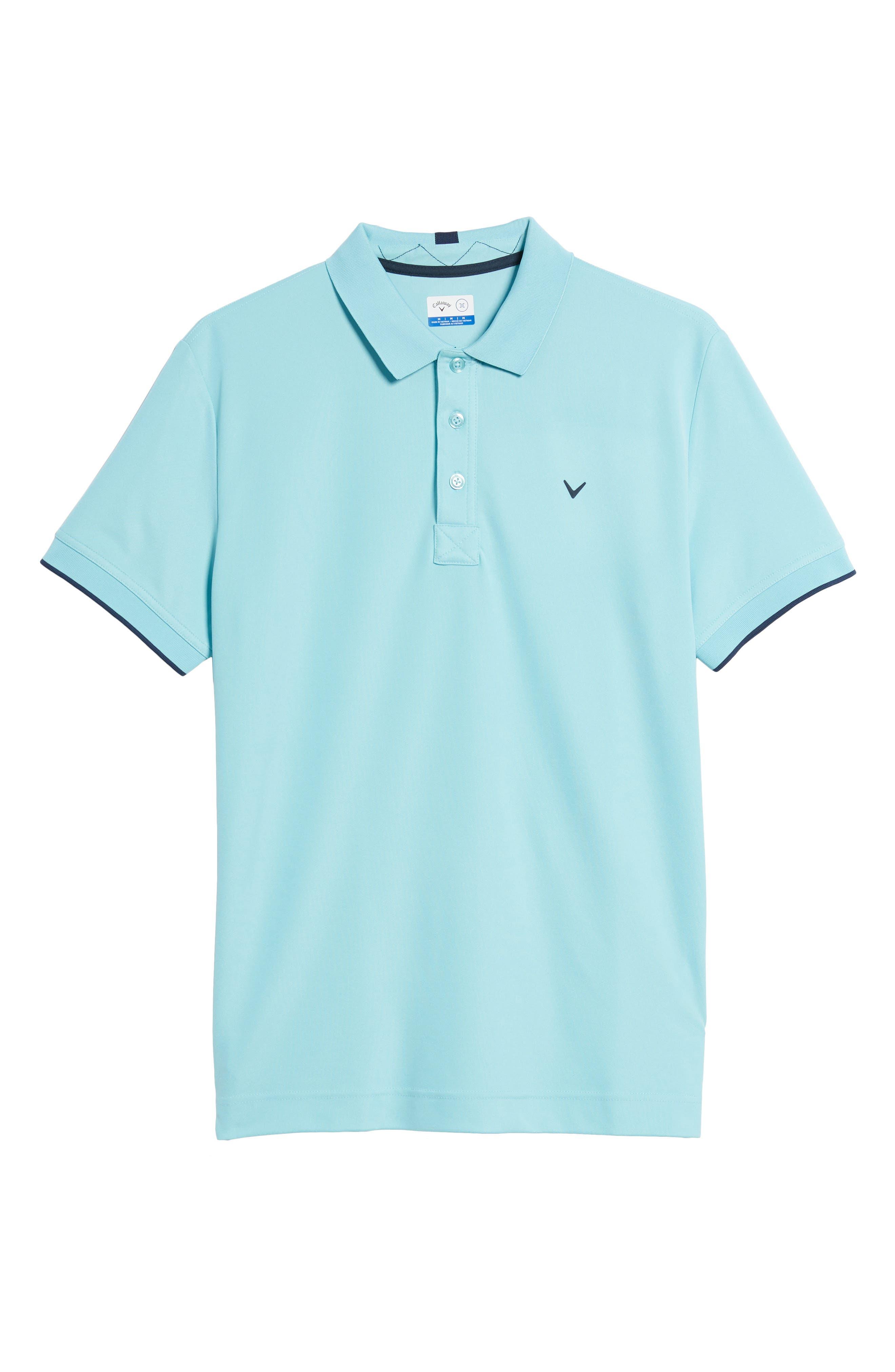Slim Fit Stretch Polo Shirt,                             Alternate thumbnail 6, color,                             Petit Four