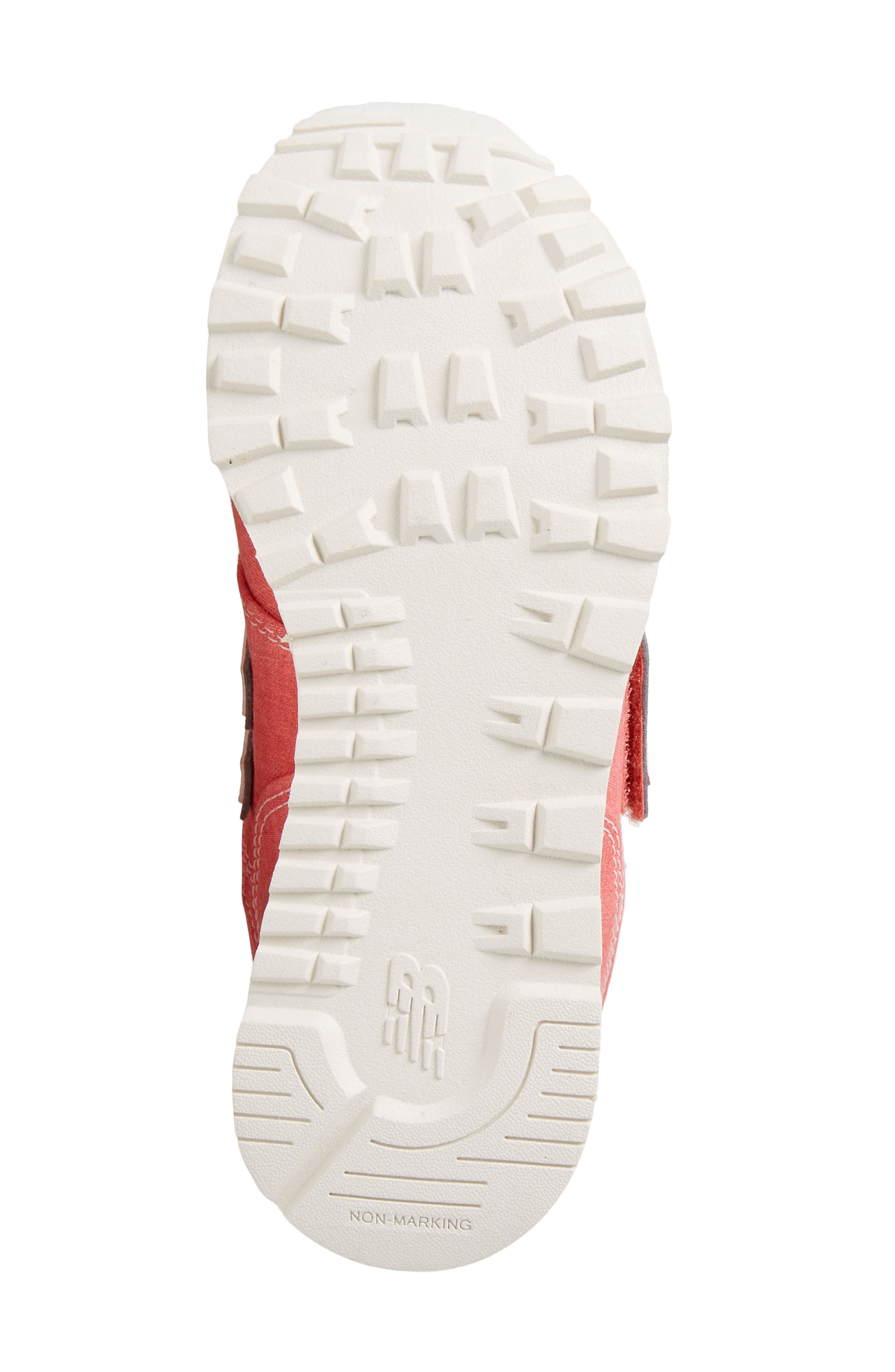 574v1 Sneaker,                             Alternate thumbnail 6, color,                             Coral