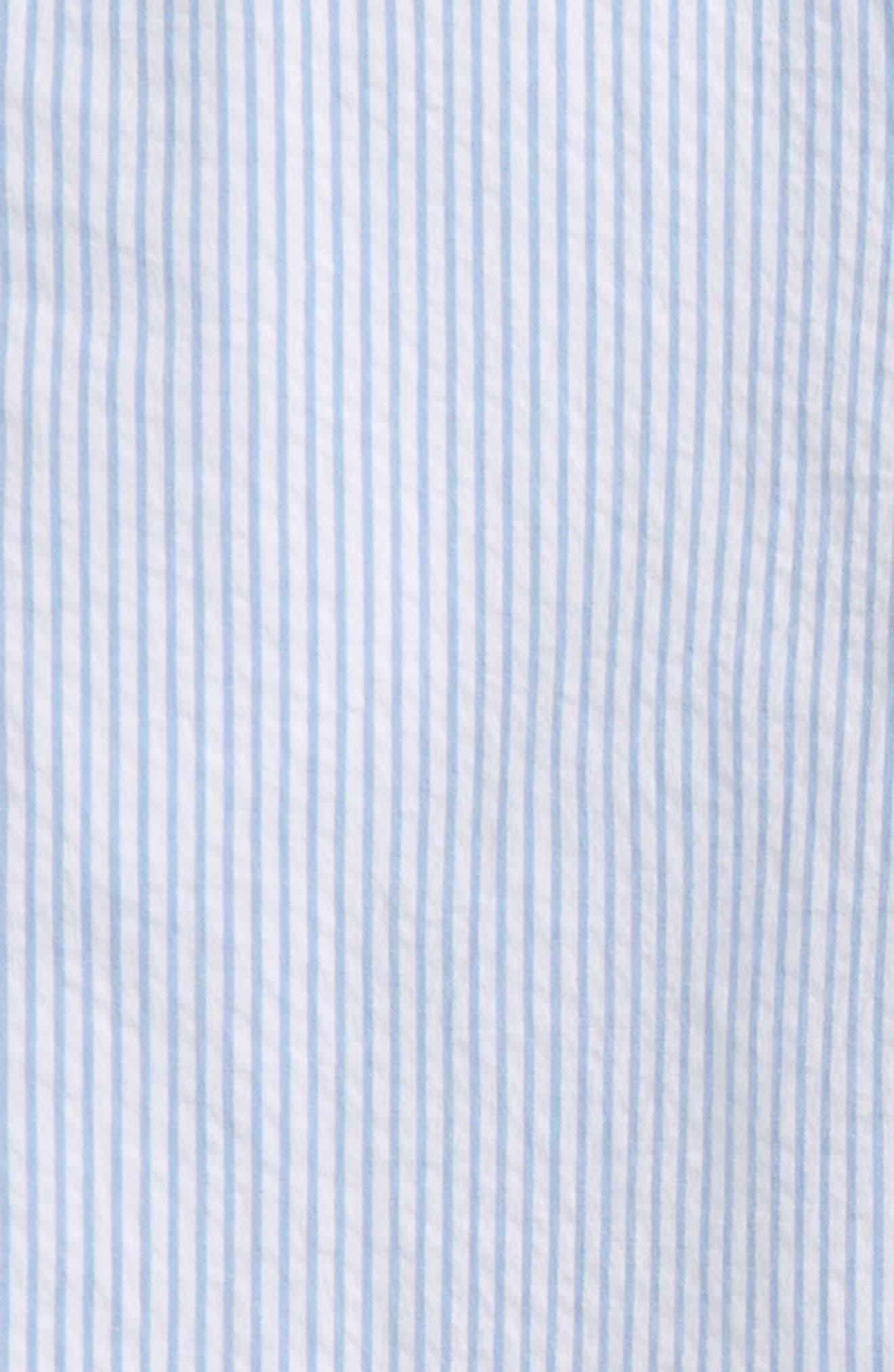 Seersucker Stripe Breaker Pants,                             Alternate thumbnail 2, color,                             Ocean Breeze