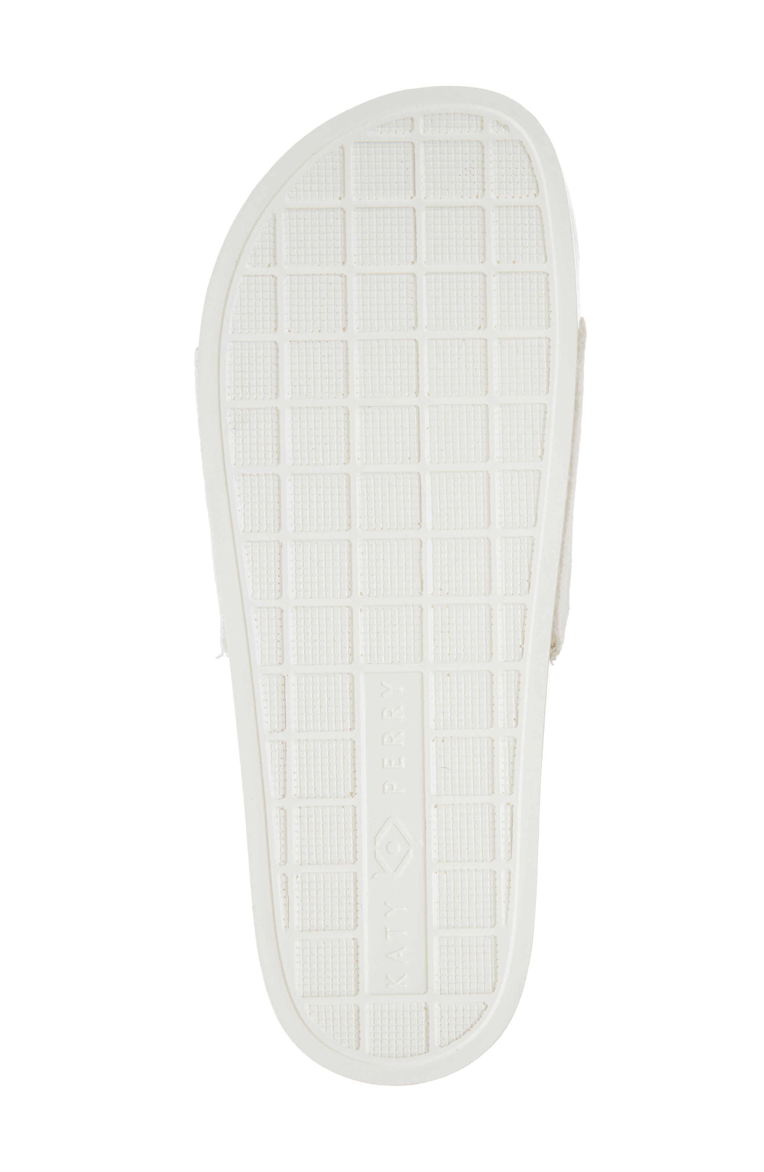 The Jimmi Slide Sandal,                             Alternate thumbnail 6, color,                             White