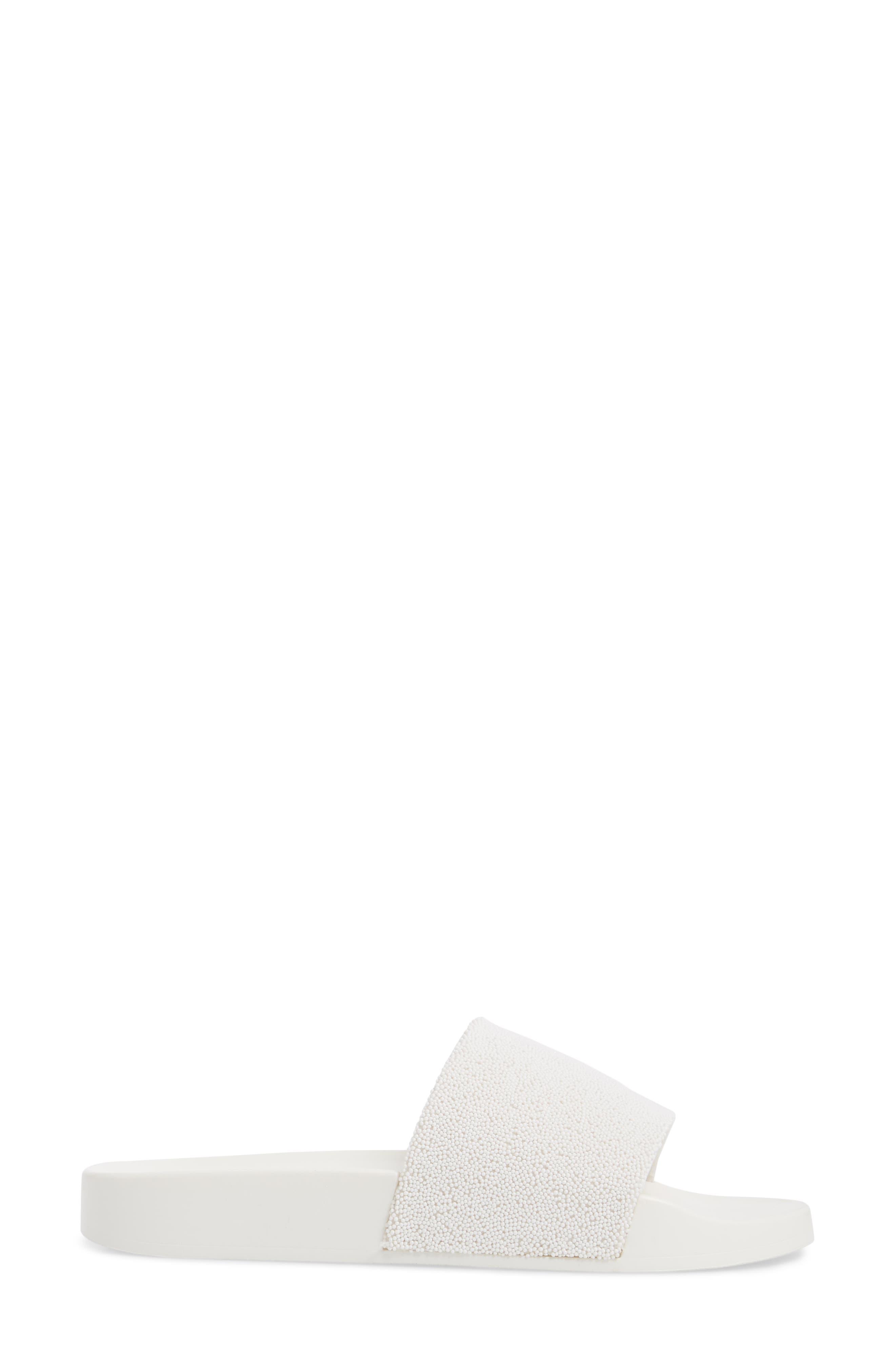 The Jimmi Slide Sandal,                             Alternate thumbnail 3, color,                             White