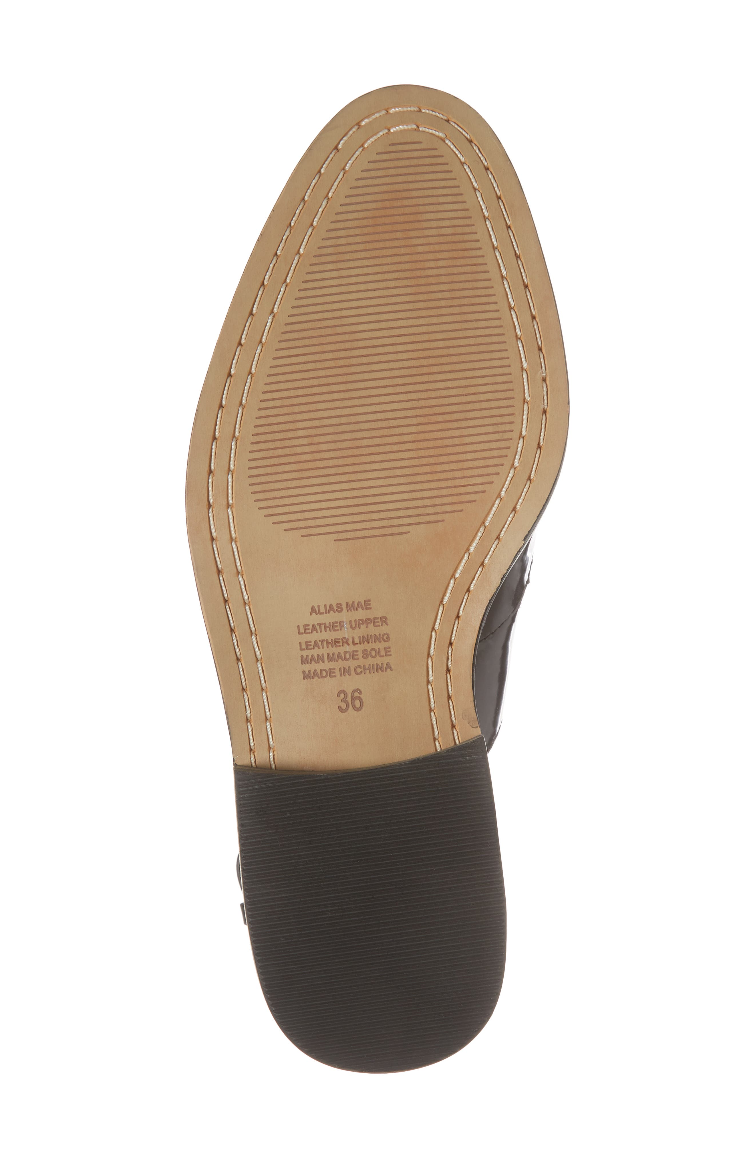 Nakita Sandal,                             Alternate thumbnail 6, color,                             Black Box Leather