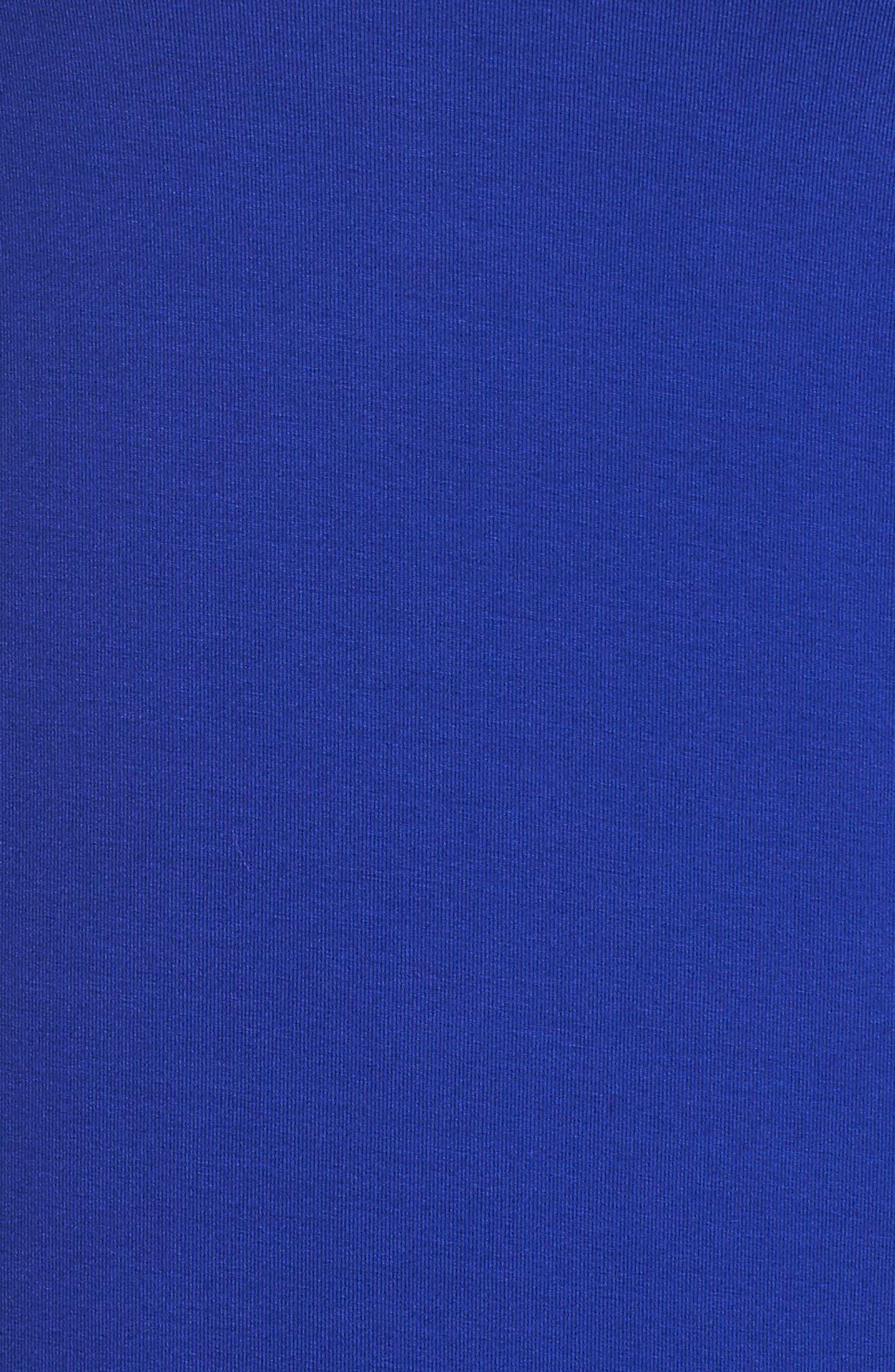 Lula Ruffle Sleeve Dress,                             Alternate thumbnail 5, color,                             Twilight Blue