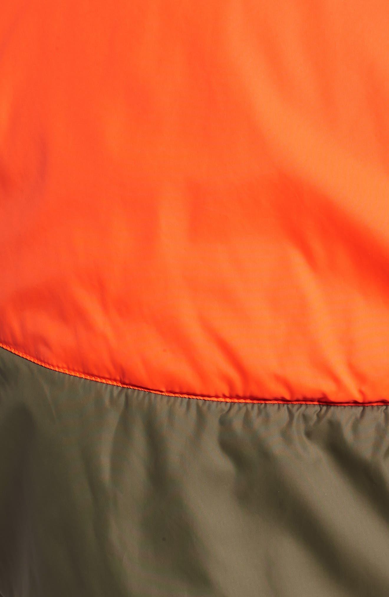 NSW Air Force 1 Jacket,                             Alternate thumbnail 6, color,                             Medium Olive/ Orange/ Olive