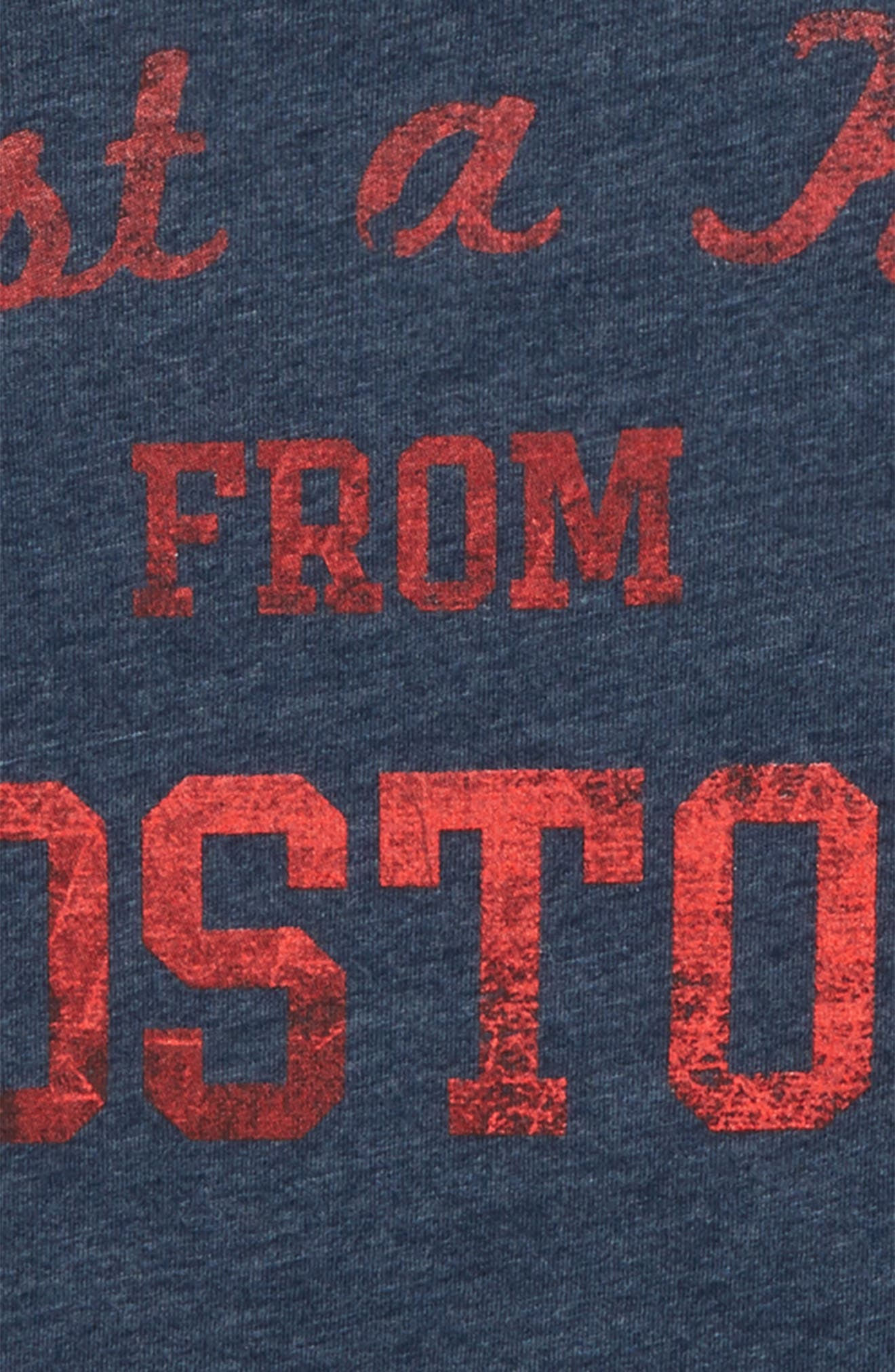 Just a Kid from Boston Graphic T-Shirt,                             Alternate thumbnail 2, color,                             Navy/ Red