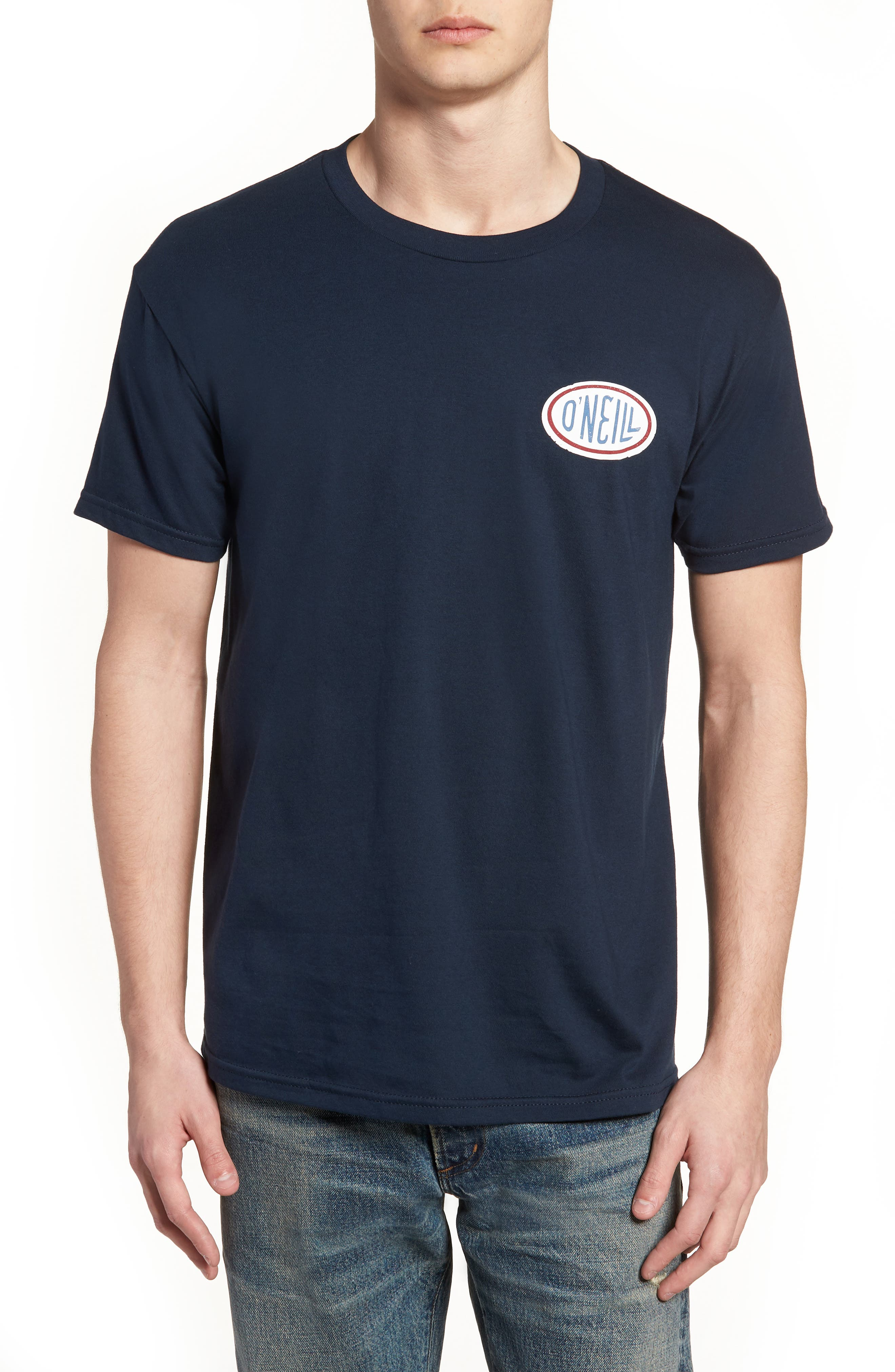 Alternate Image 1 Selected - O'Neill Gasser Graphic T-Shirt