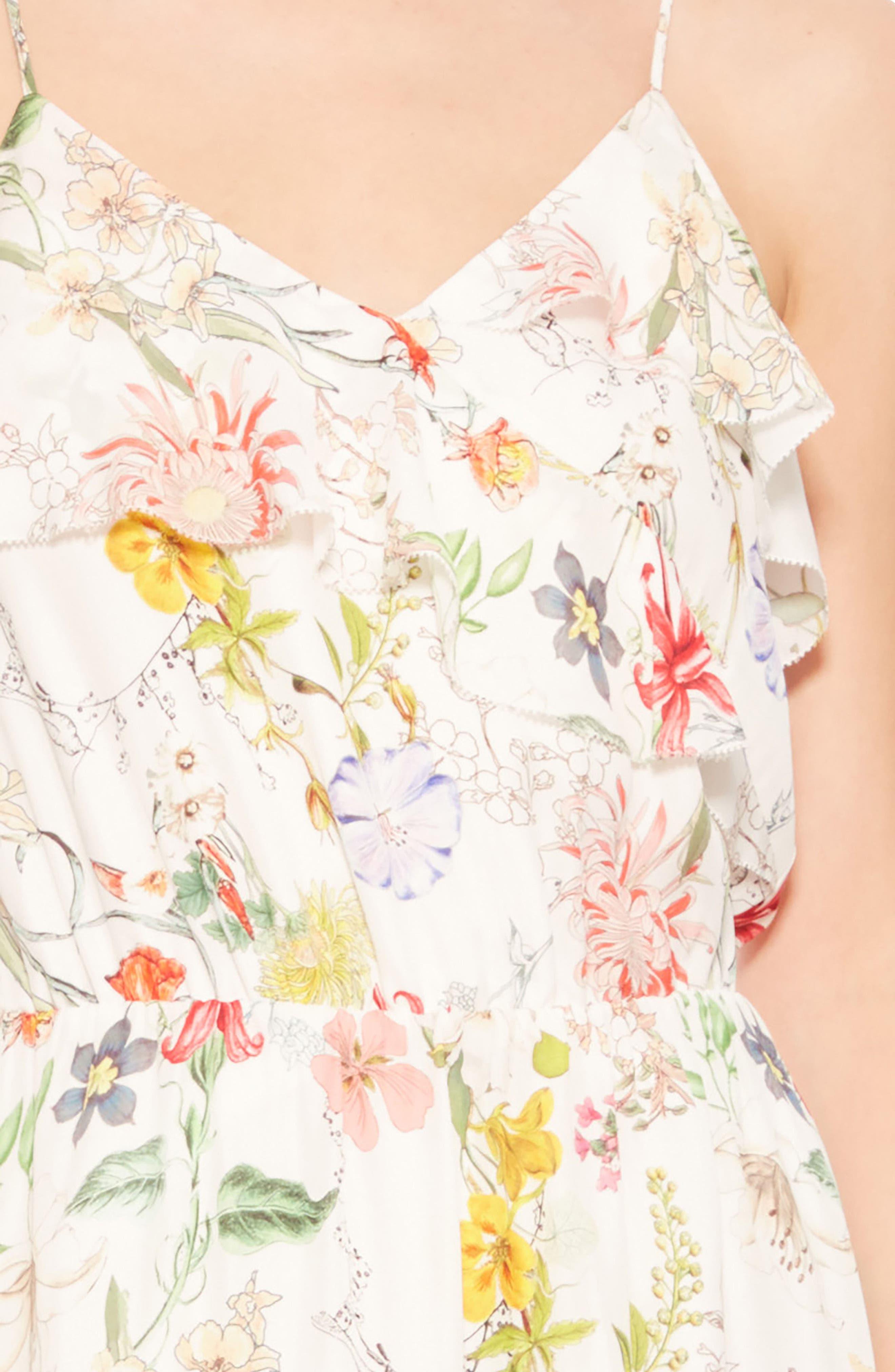 Vanna Dress,                             Alternate thumbnail 4, color,                             Sangria