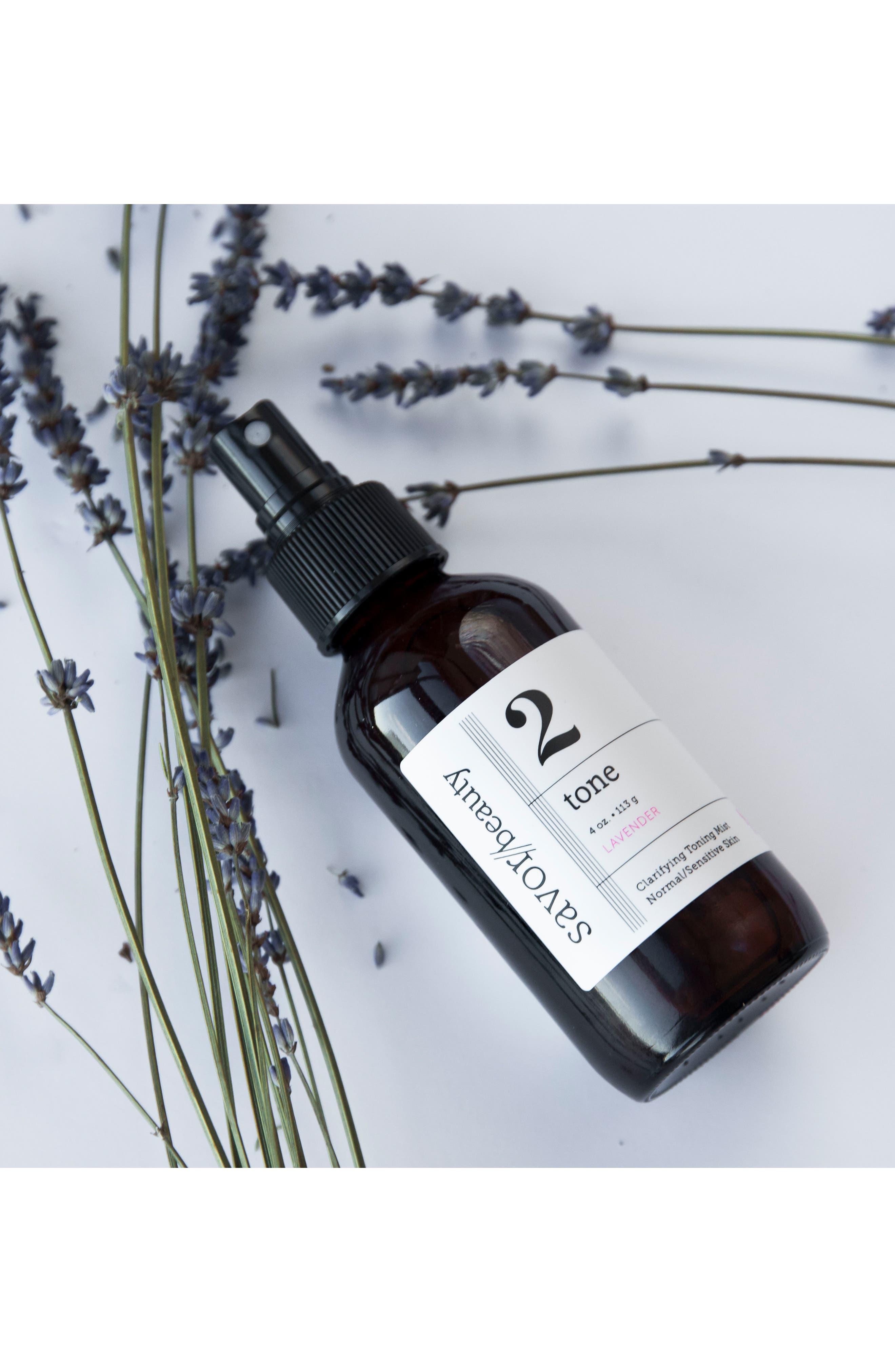 Alternate Image 2  - Savor Beauty Tone Lavender Clarifying Toning Mist