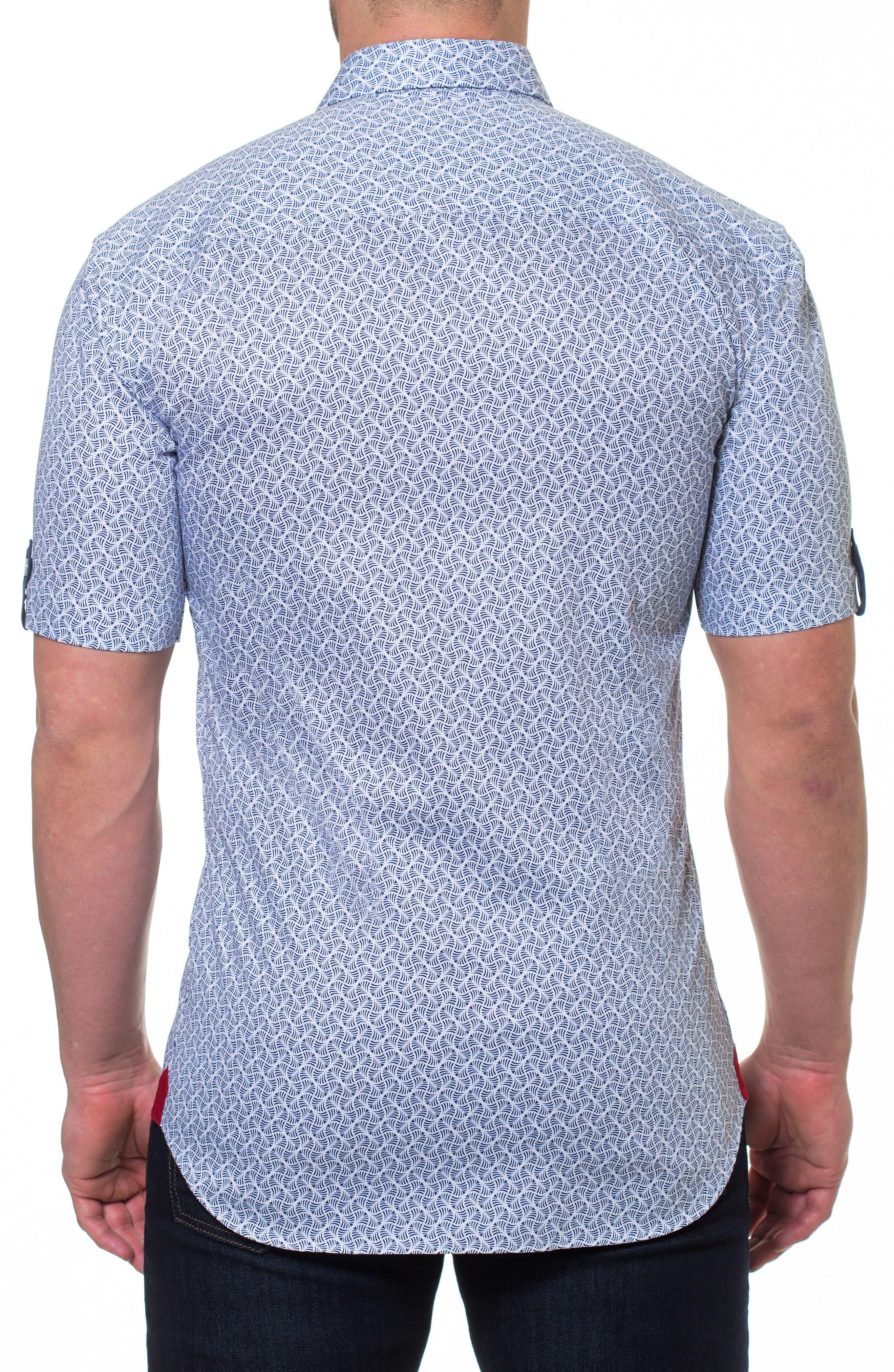 Fresh Ripple Sport Shirt,                             Alternate thumbnail 2, color,                             Grey