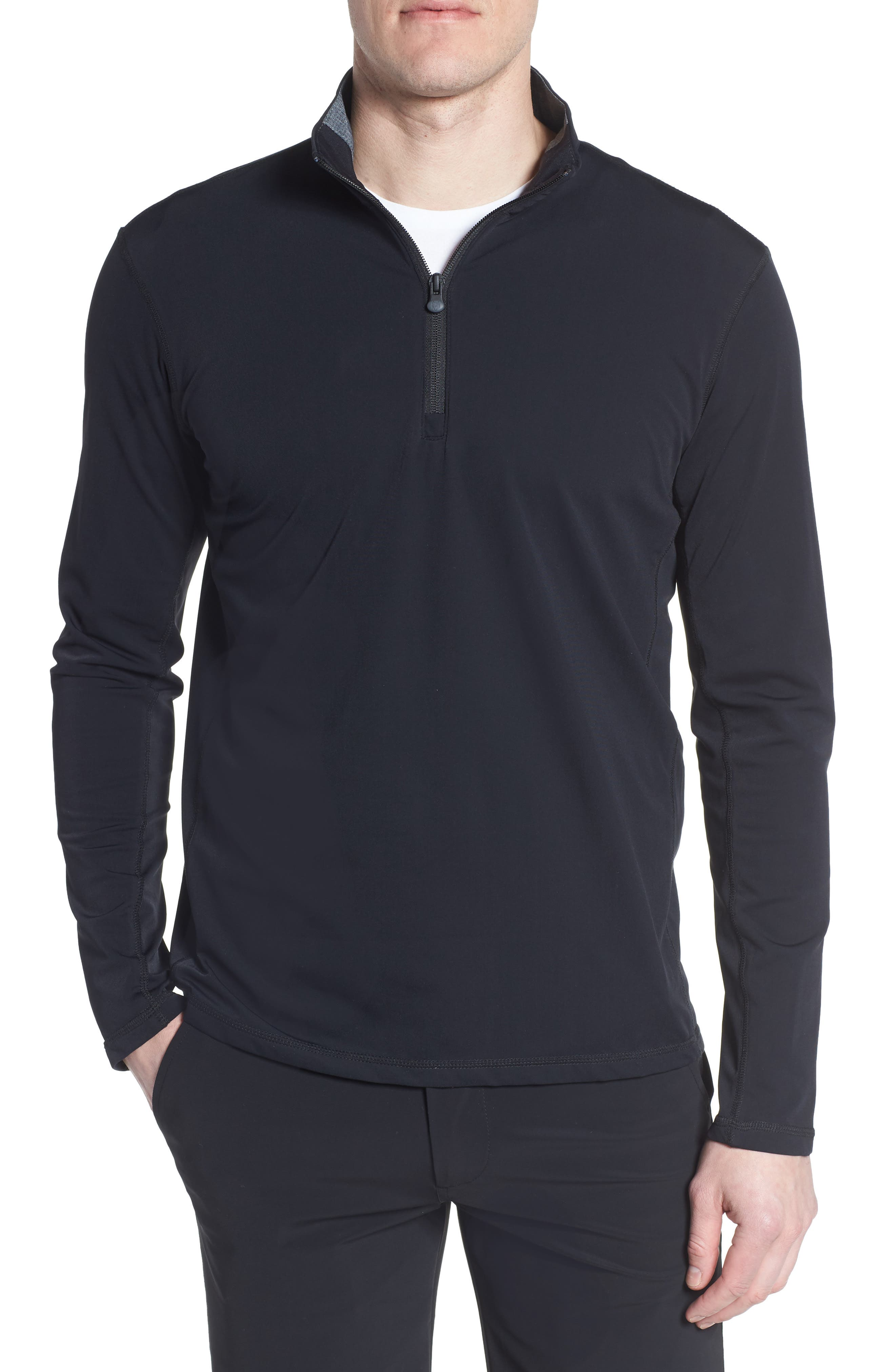 GREYSON Tate Quarter Zip Pullover