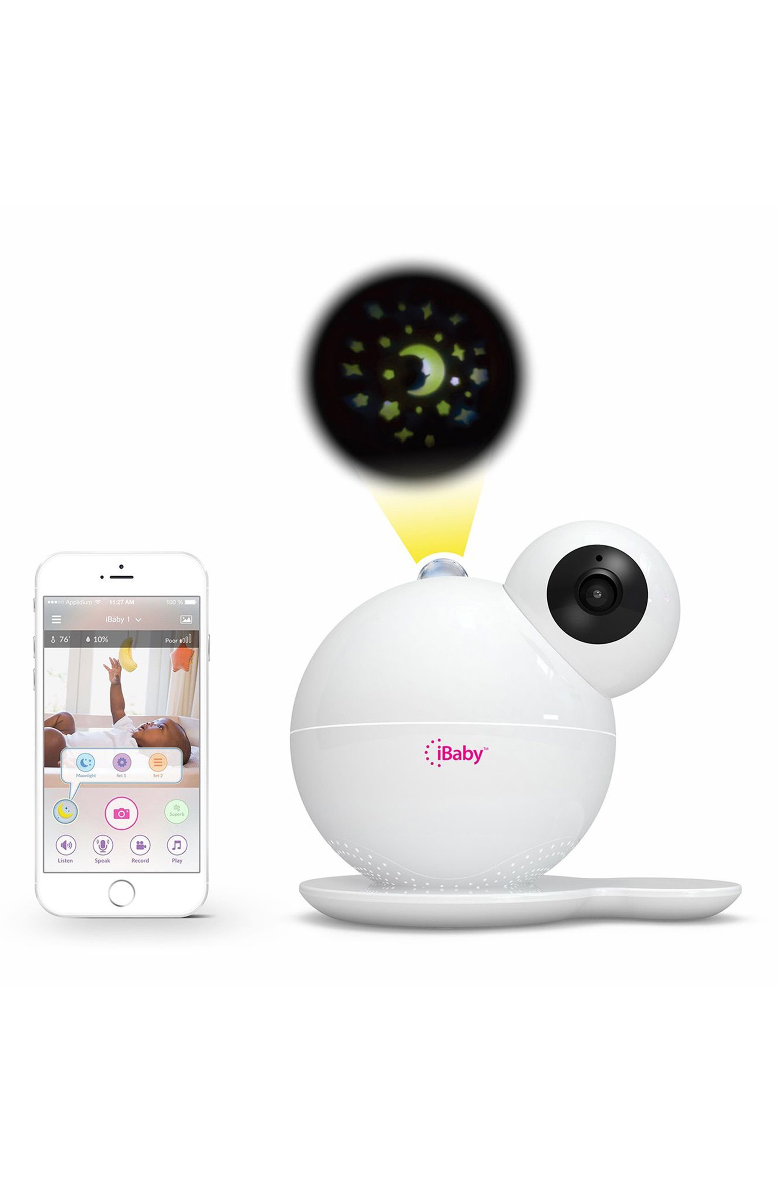 Care M7 Baby Monitor,                             Main thumbnail 1, color,                             White