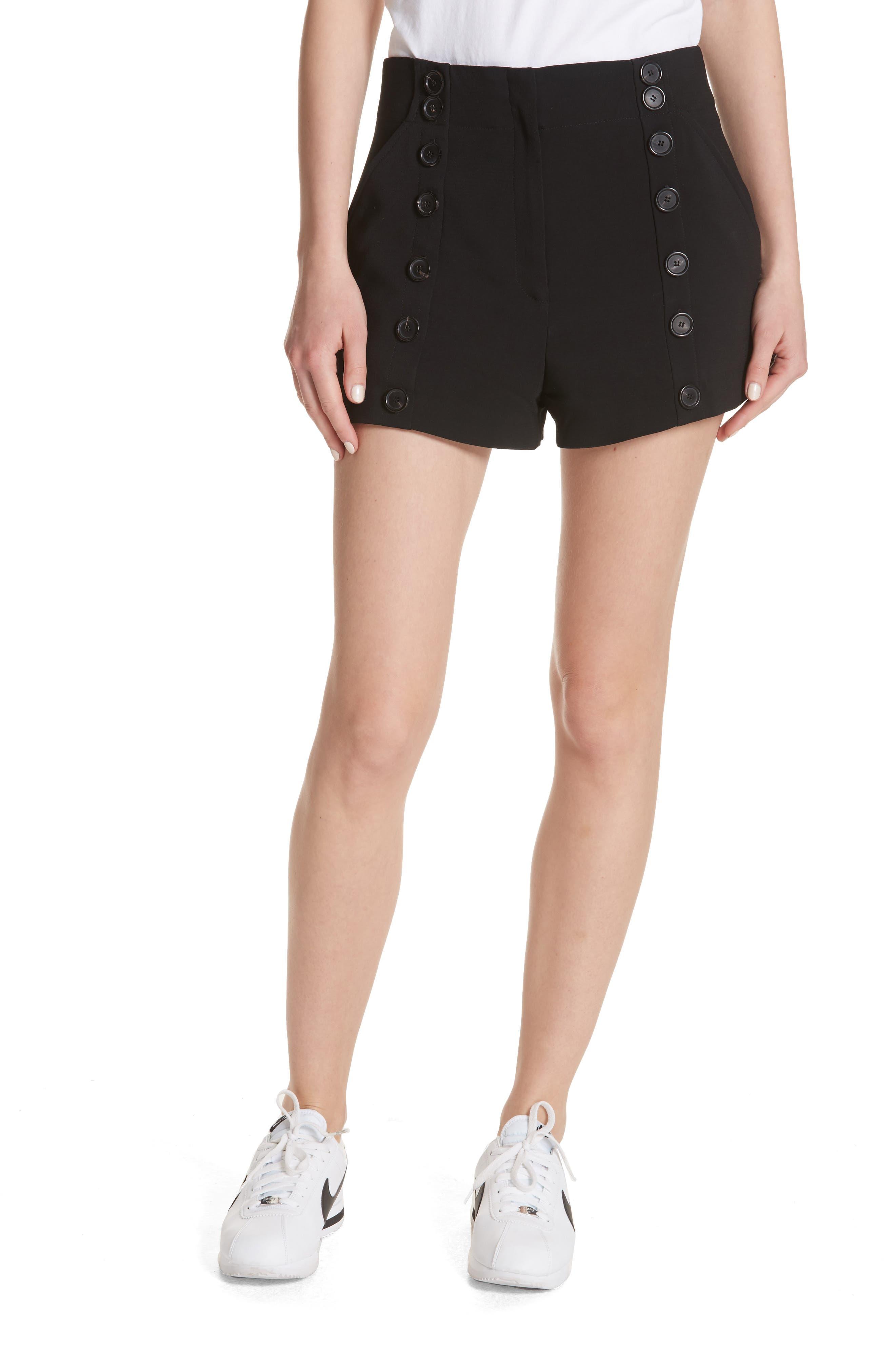 Issac Shorts,                             Main thumbnail 1, color,                             Black