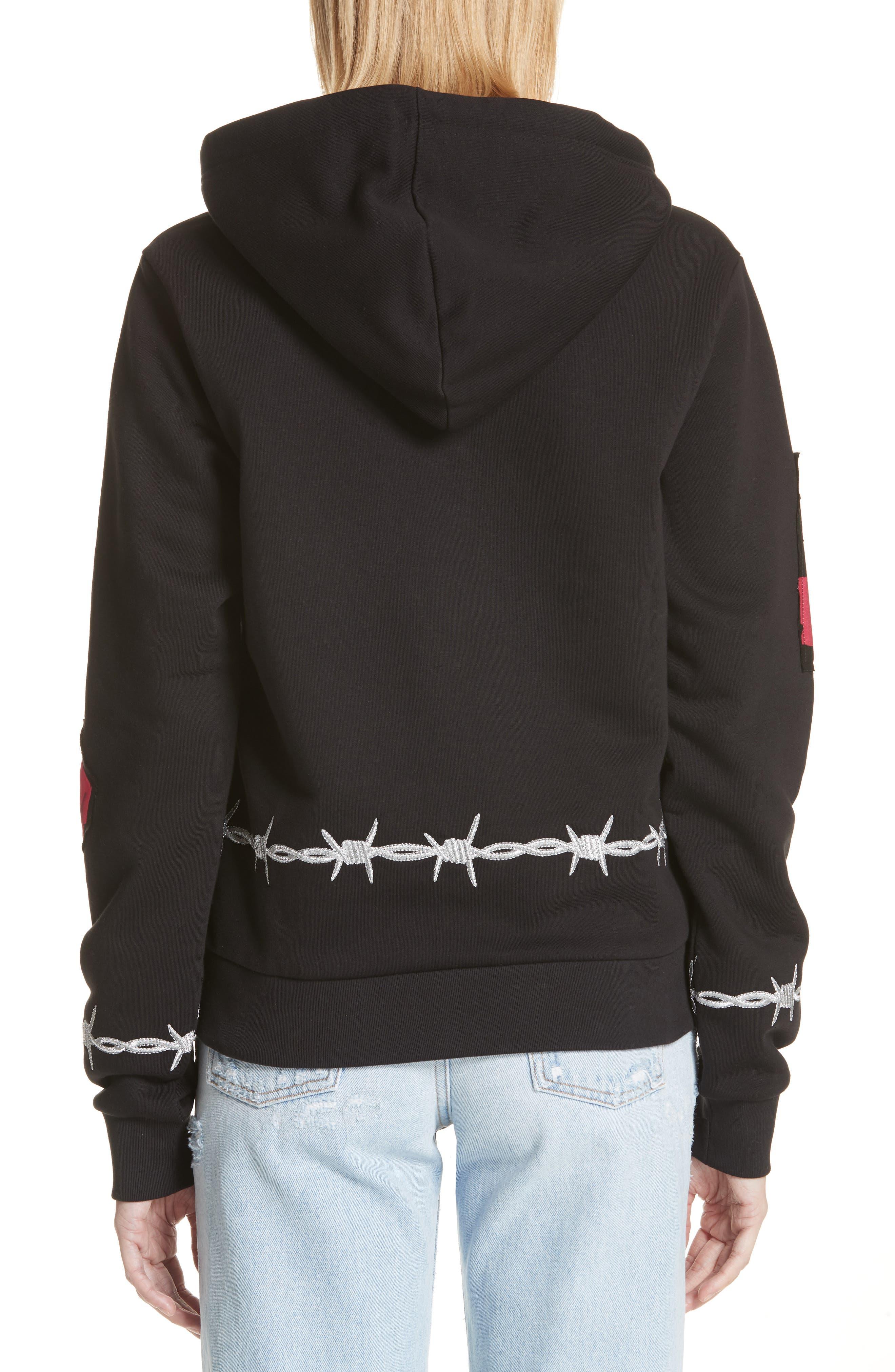 Protester Sweatshirt,                             Alternate thumbnail 2, color,                             Black