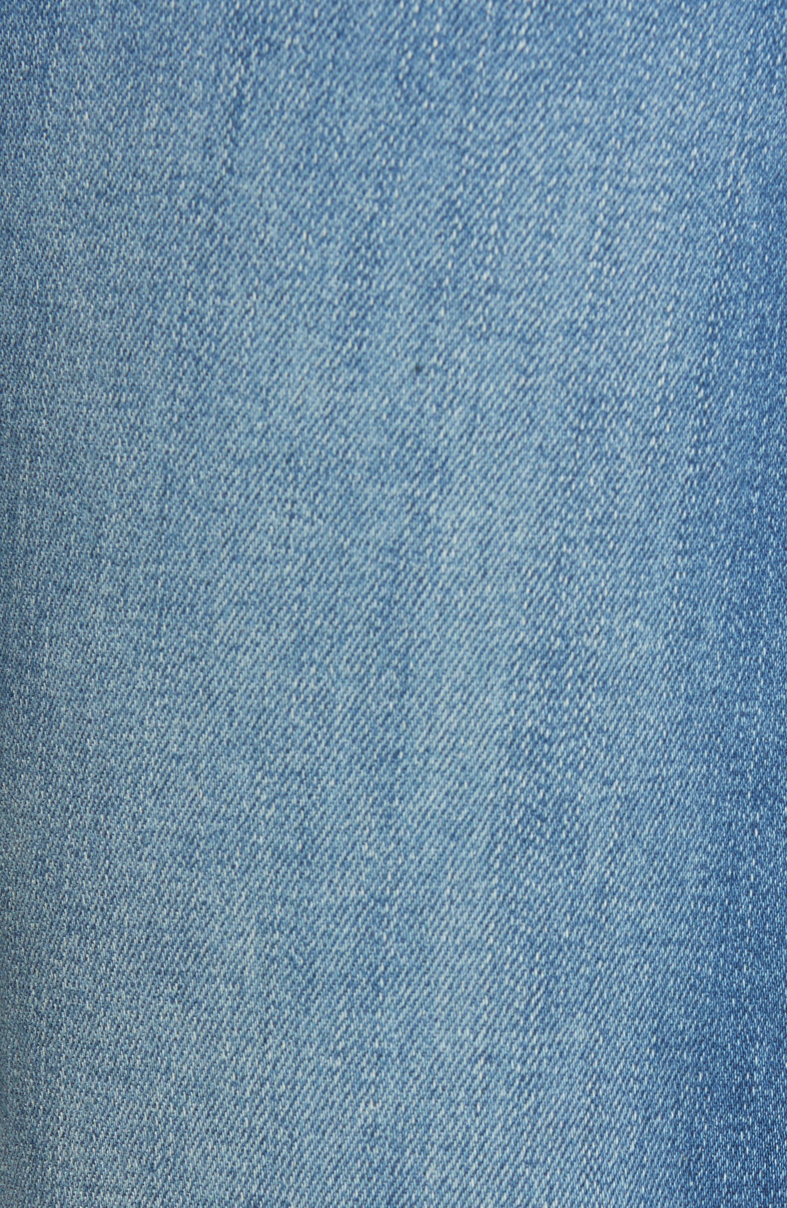 The Tomcat Ankle Straight Leg Jeans,                             Alternate thumbnail 6, color,                             Tequila Mockingbird